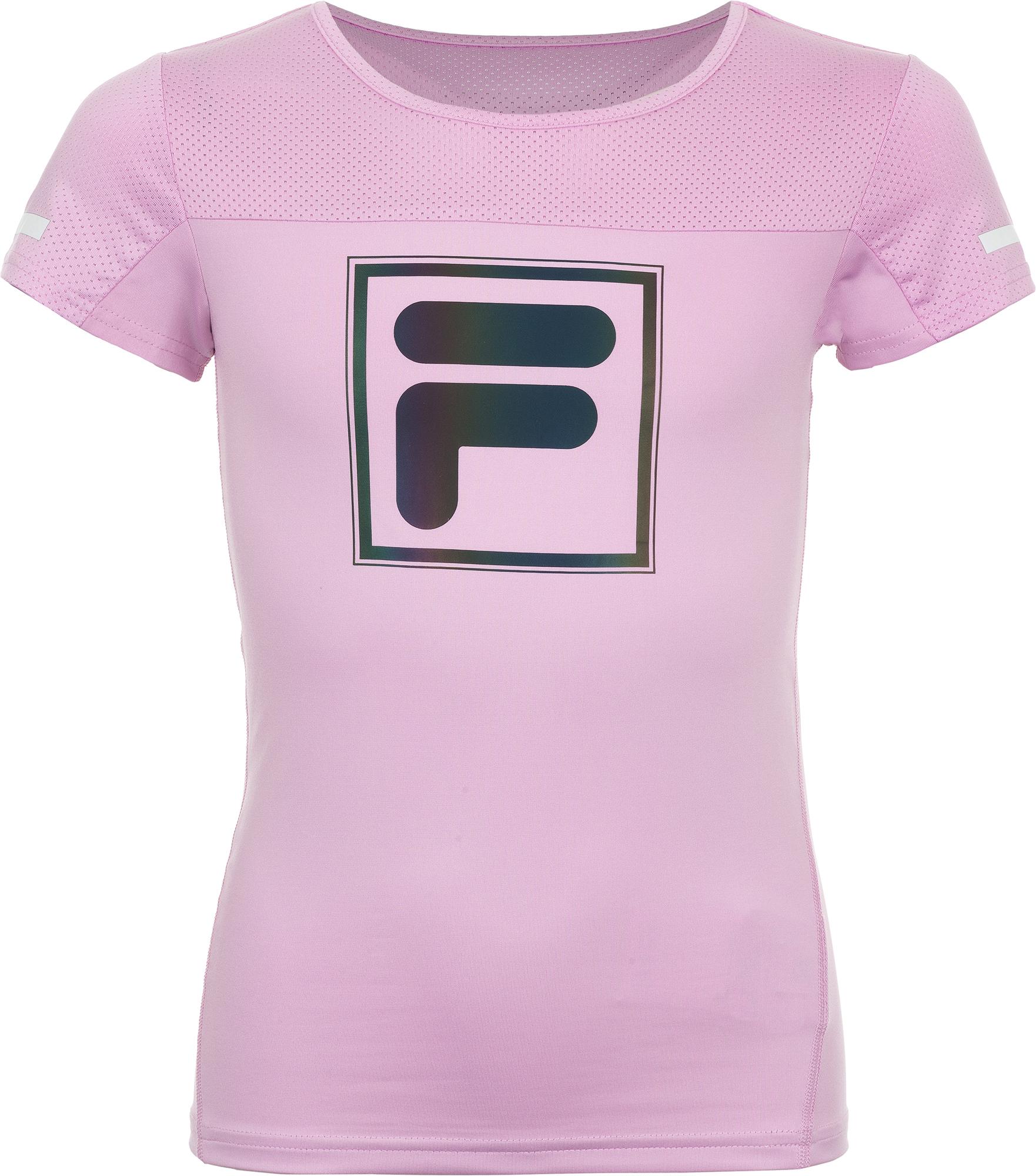 Fila Футболка для девочек Fila, размер 128 спортивная футболка fila