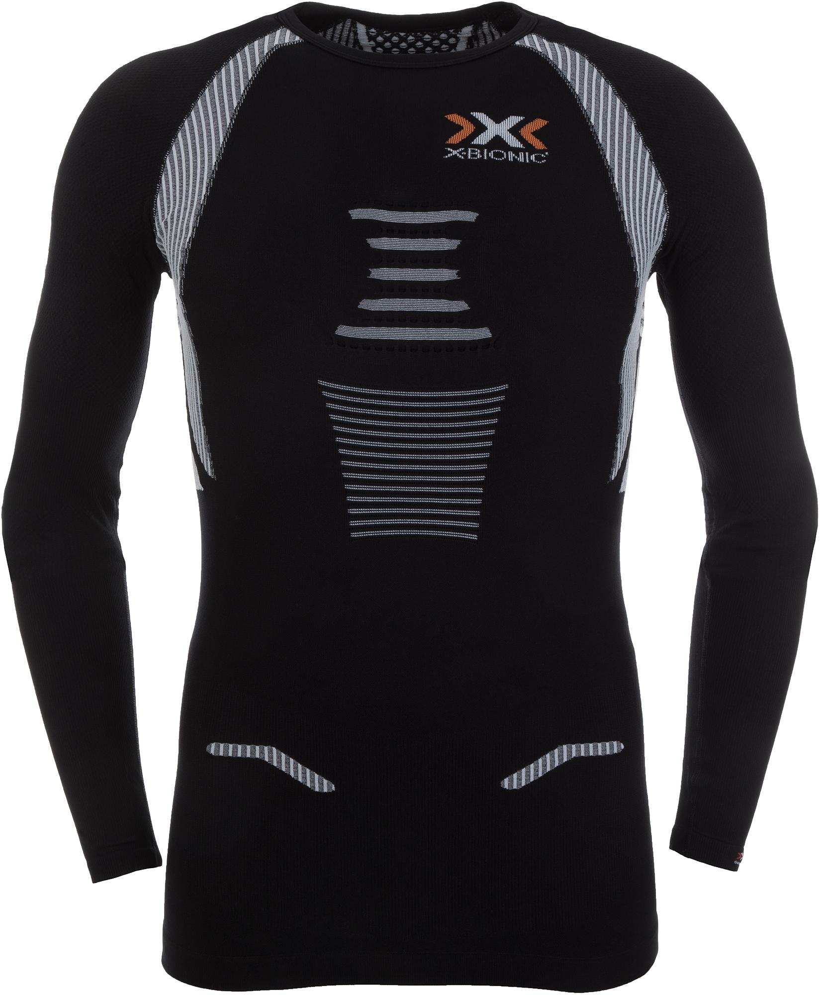 X-Bionic Футболка с длинным рукавом мужская X-Bionic The Trick Ow, размер 54 футболка x bionic x bionic effektor running powershirt®