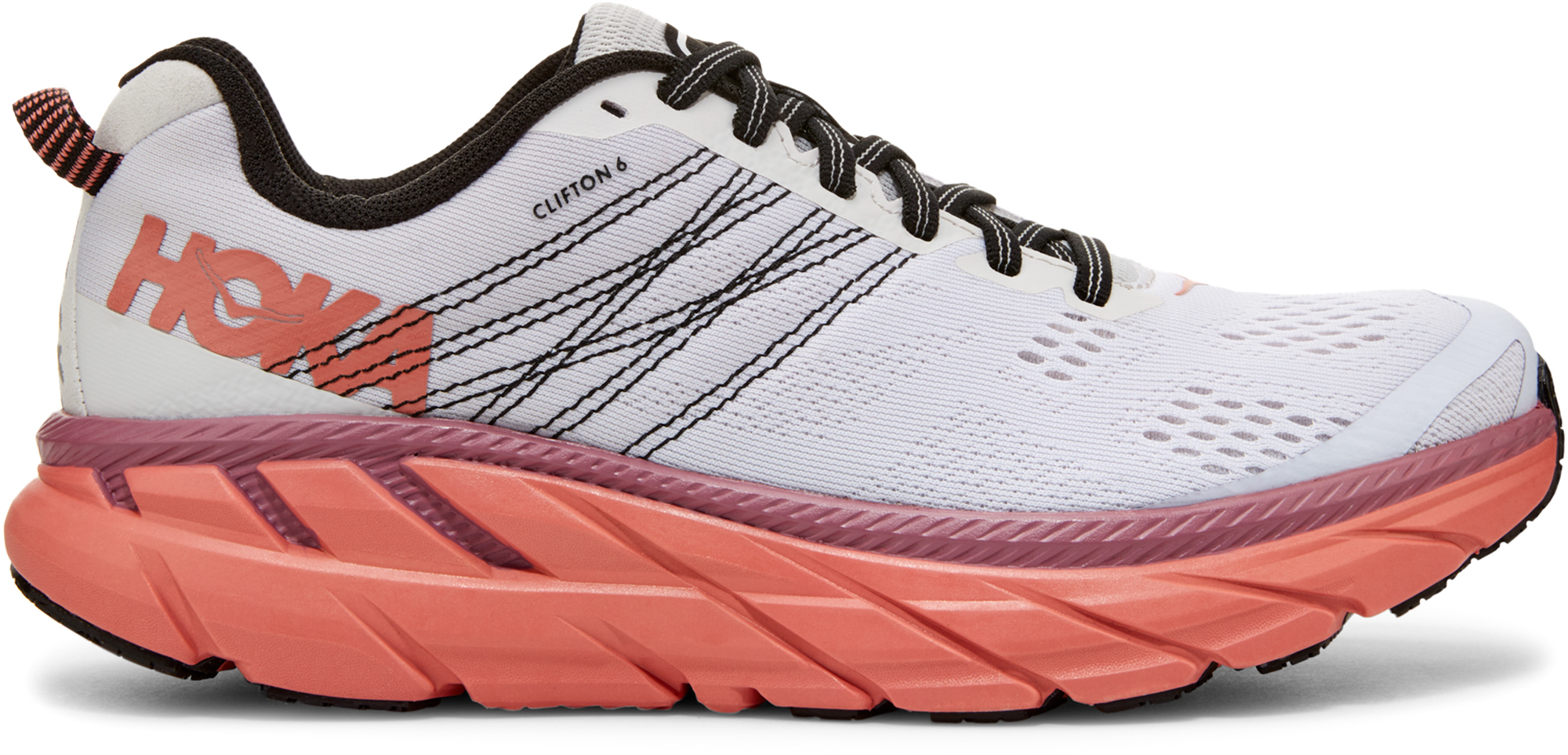 HOKA ONE ONE Кроссовки женские HOKA ONE ONE Clifton 6, размер 37 hoka one one women s w conquest running shoe