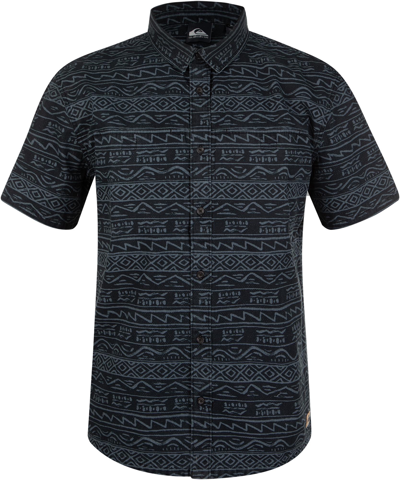 цена на Quiksilver Рубашка с коротким руковом мужская Quiksilver Heritage, размер 52-54