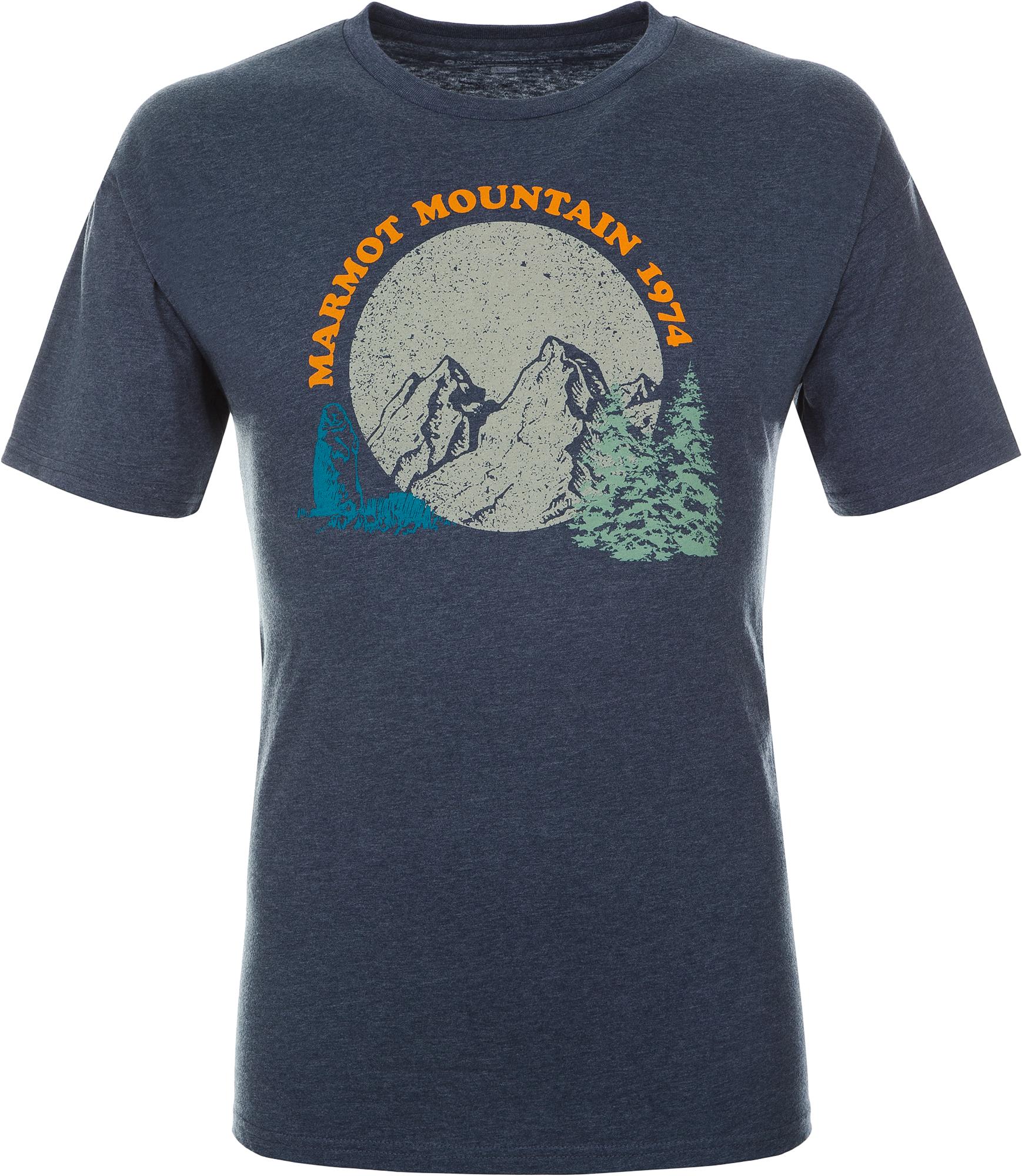 Marmot Футболка мужская Marmot, размер 58-60 цена