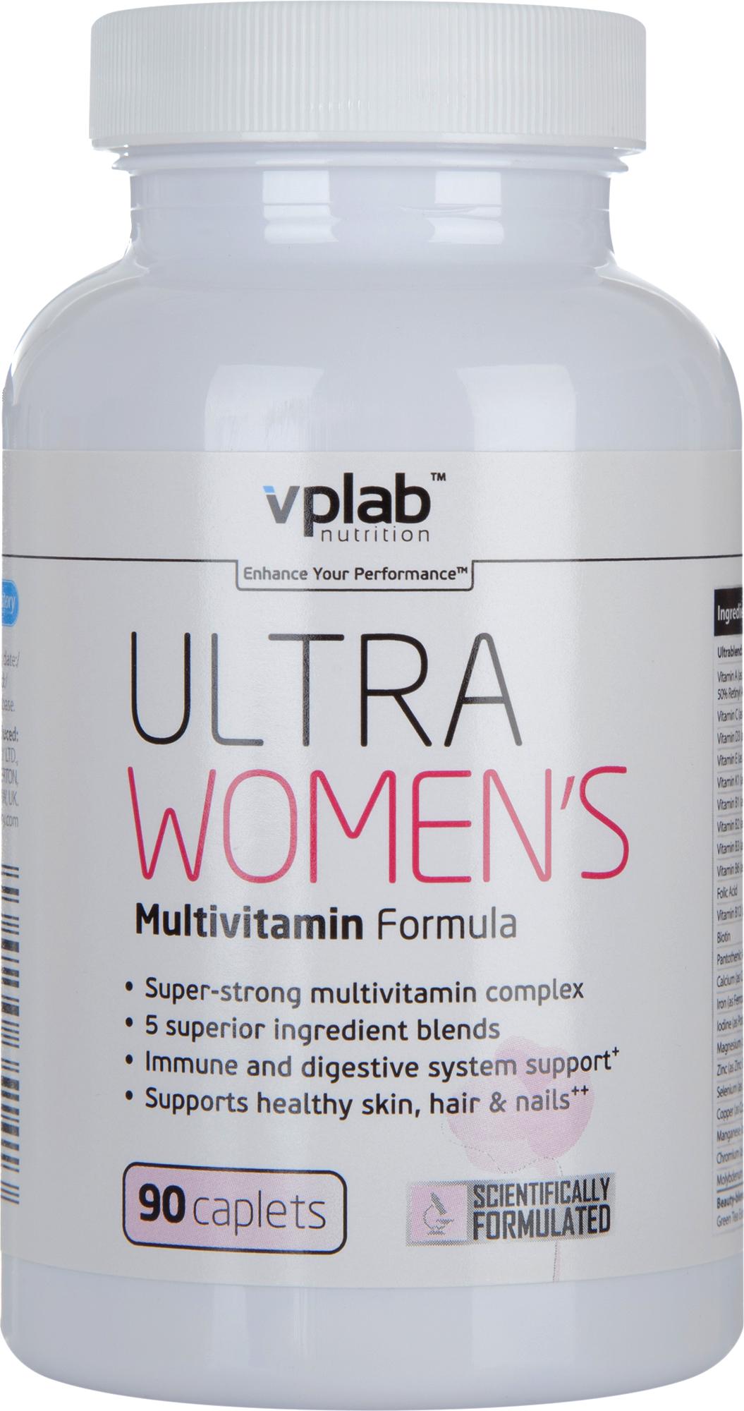 Vplab nutrition Женский спортивный витаминно-минеральный комплекс