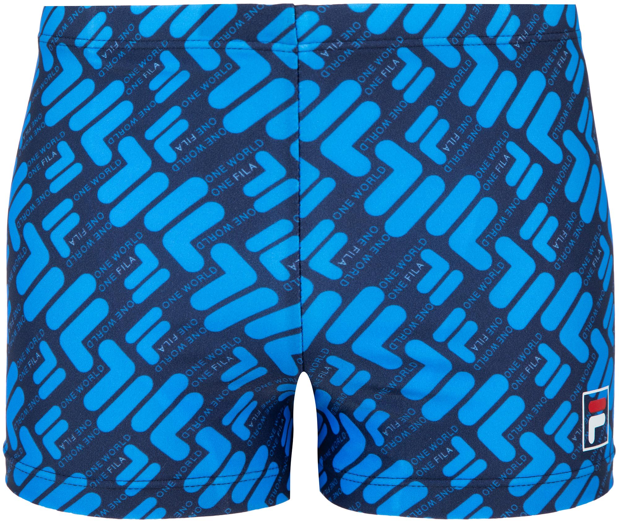 fila плавки для мальчиков fila размер 128 Fila Плавки-шорты для мальчиков FILA, размер 128