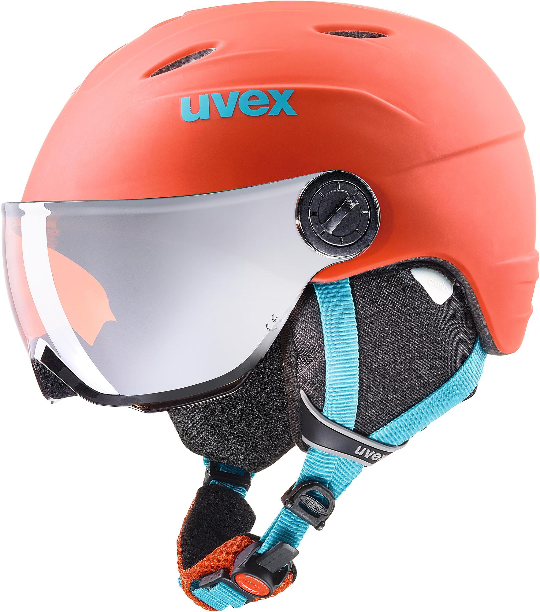 Uvex Шлем детский Uvex Visor Pro, размер 57-58