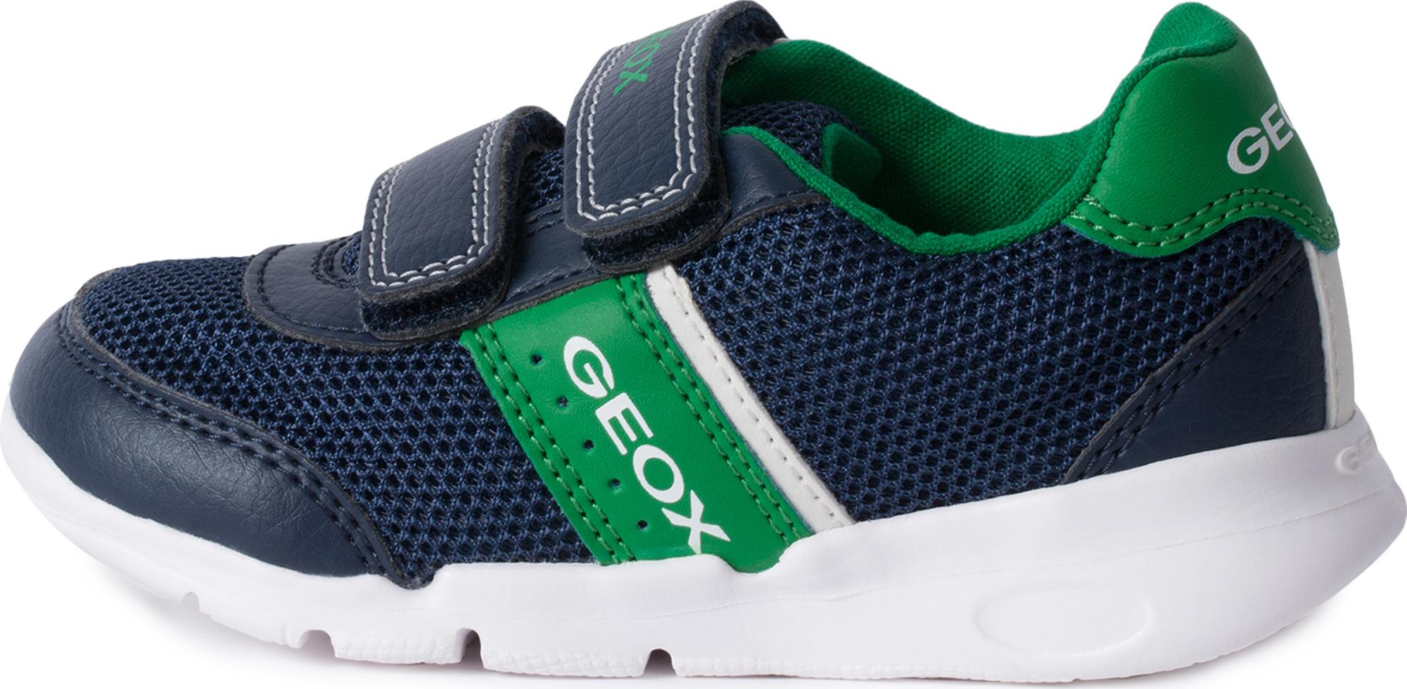Geox Кроссовки для мальчиков Geox Runner, размер 26 цена 2017