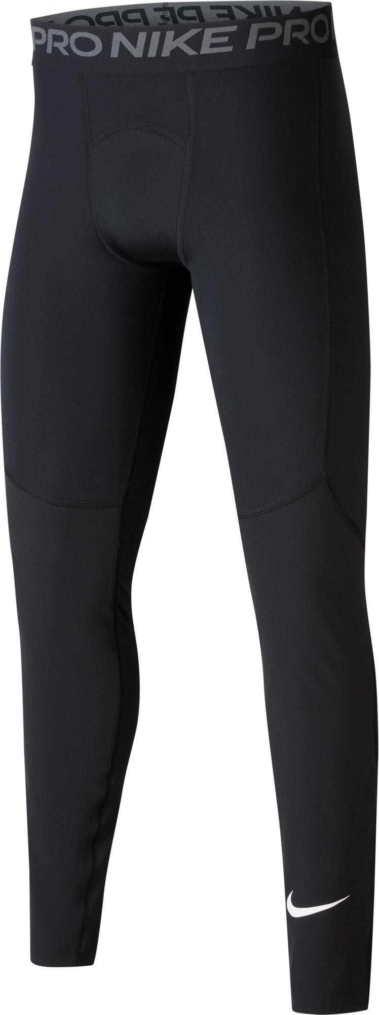 Nike Тайтсы для мальчиков Nike Pro, размер 128-137 тайтсы nike nike ni464ewetsi3