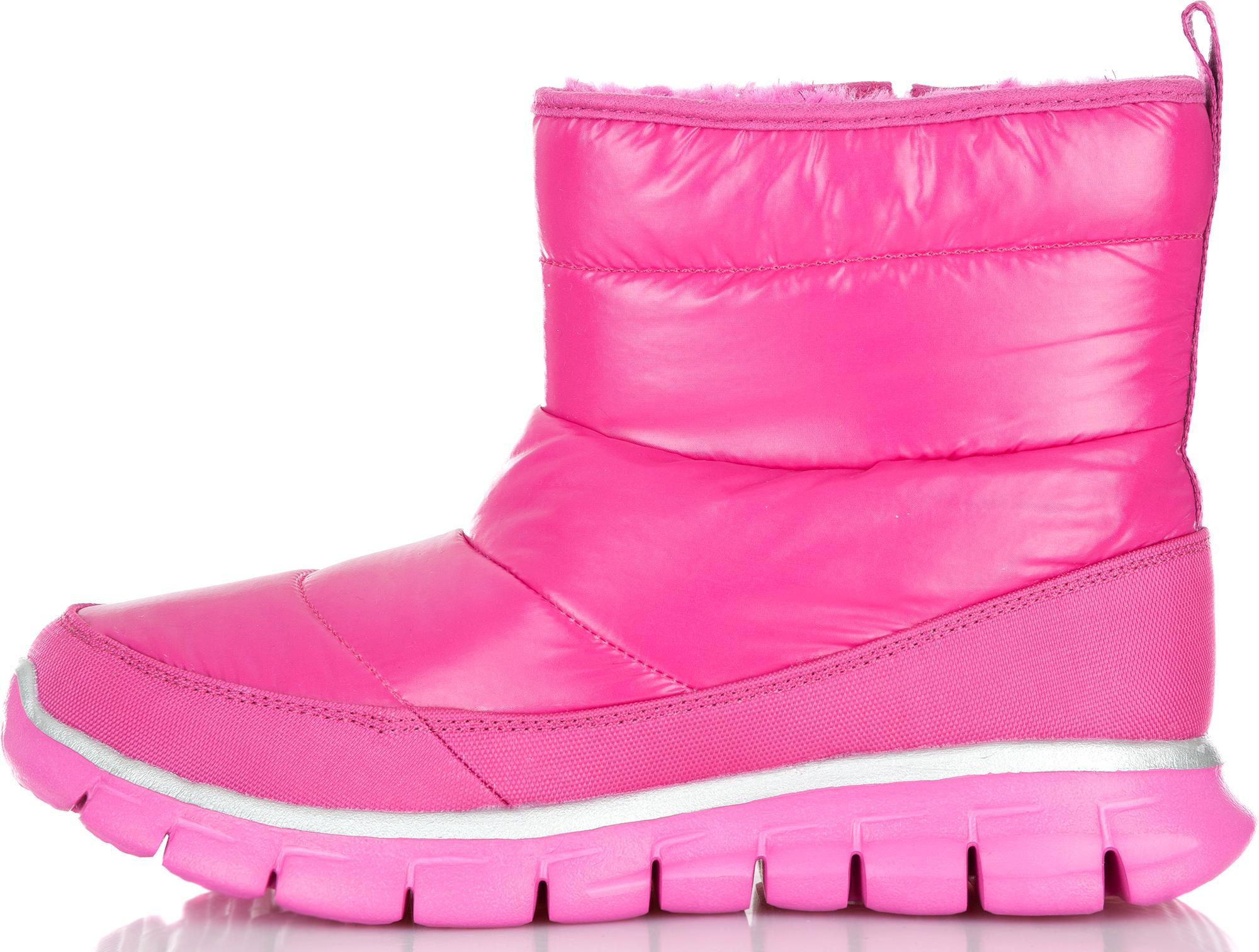 цена на Skechers Сапоги утепленные для девочек Skechers, размер 36