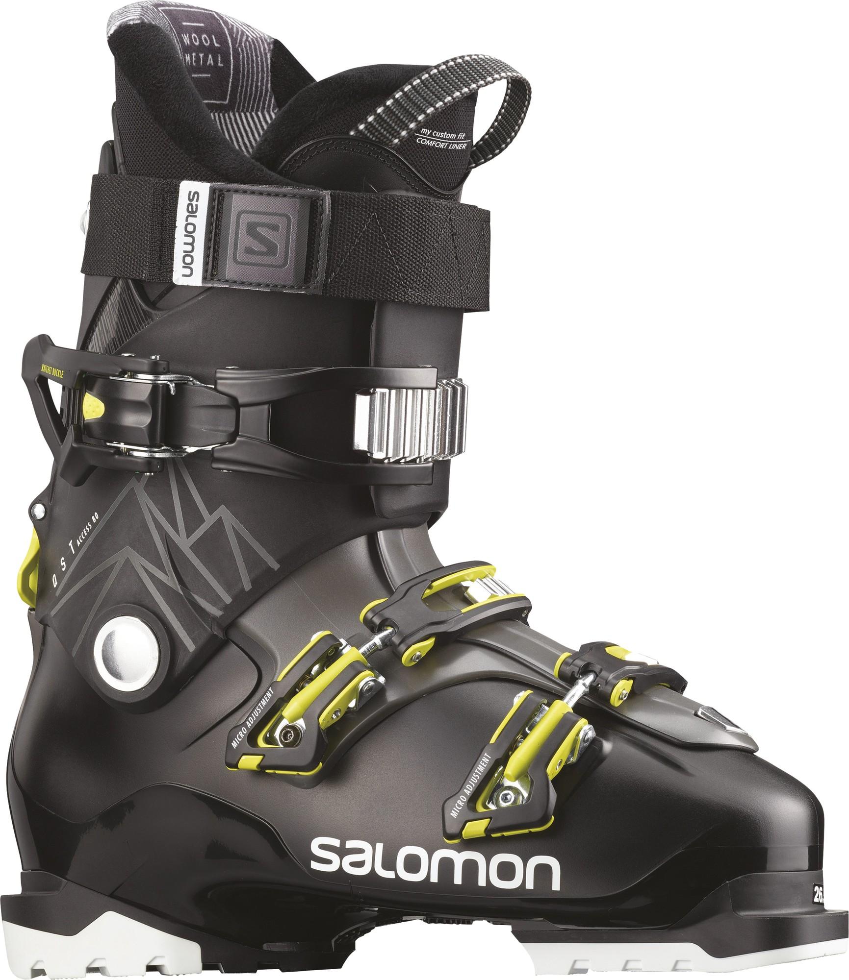 цена Salomon Ботинки горнолыжные Salomon QST Access 80, размер 30 см онлайн в 2017 году