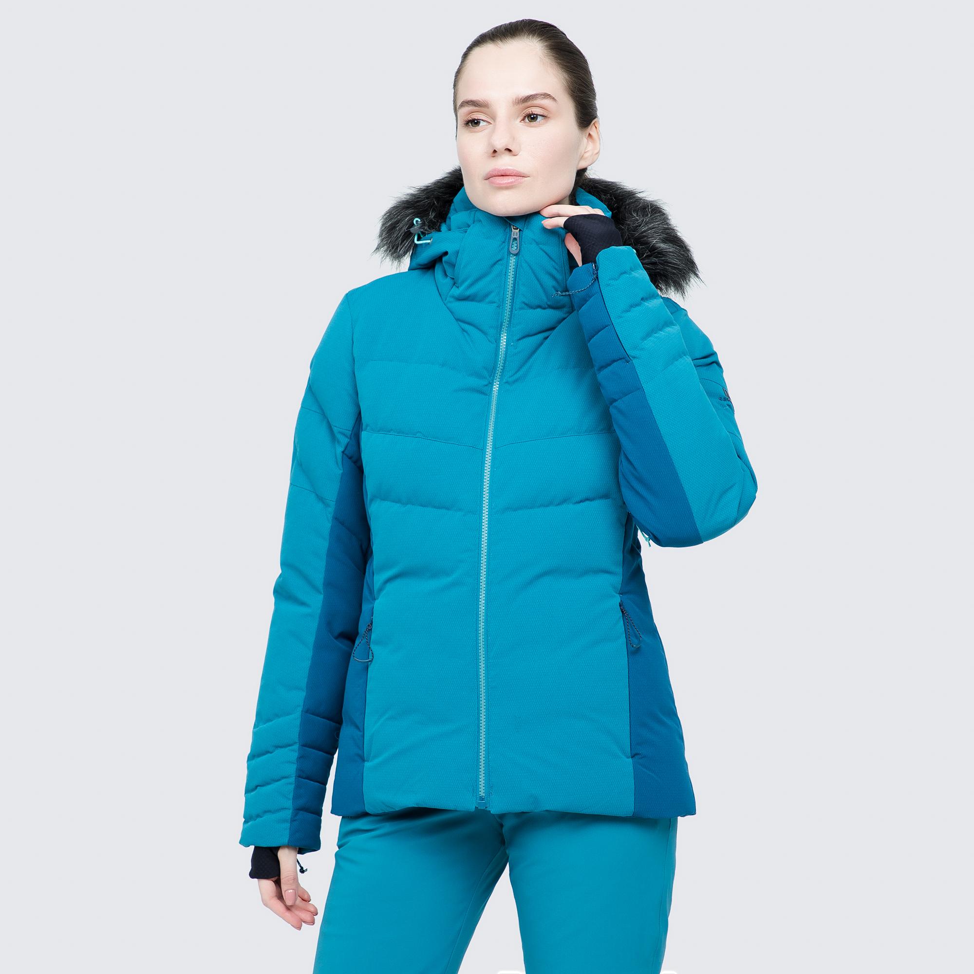 Фото - Salomon Куртка пуховая женская Salomon IceTown, размер 48-50 куртка женская trussardi цвет темно синий 36s00158 blue night размер l 46 48