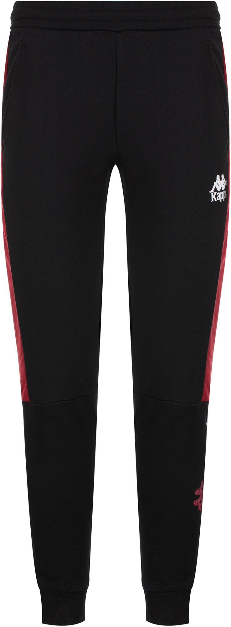 Фото - Kappa Брюки мужские Kappa, размер 46 брюки мужские kappa men s trousers цвет графитовый 304jr00 3a размер xl 52