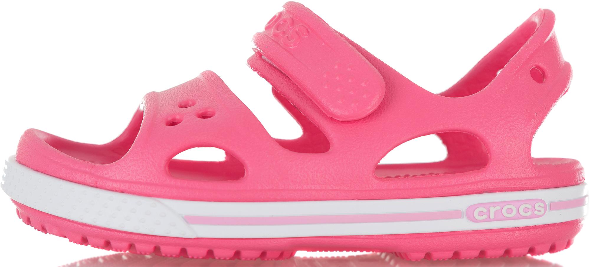 Crocs Сандалии для девочек Crocband II, размер 30