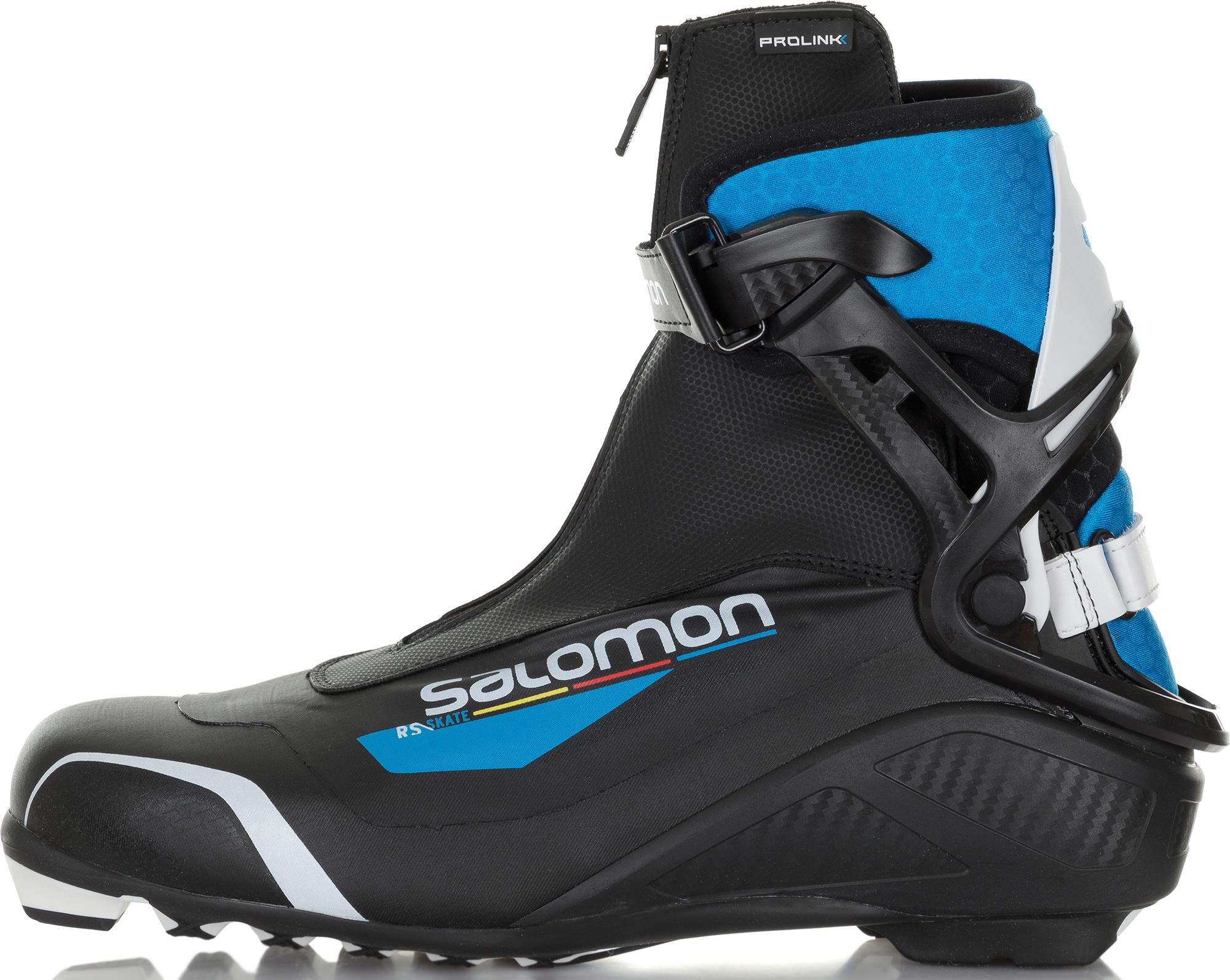 Salomon Ботинки для беговых лыж Salomon Rs Prolink, размер 44,5 крепления salomon salomon для беговых лыж auto женские
