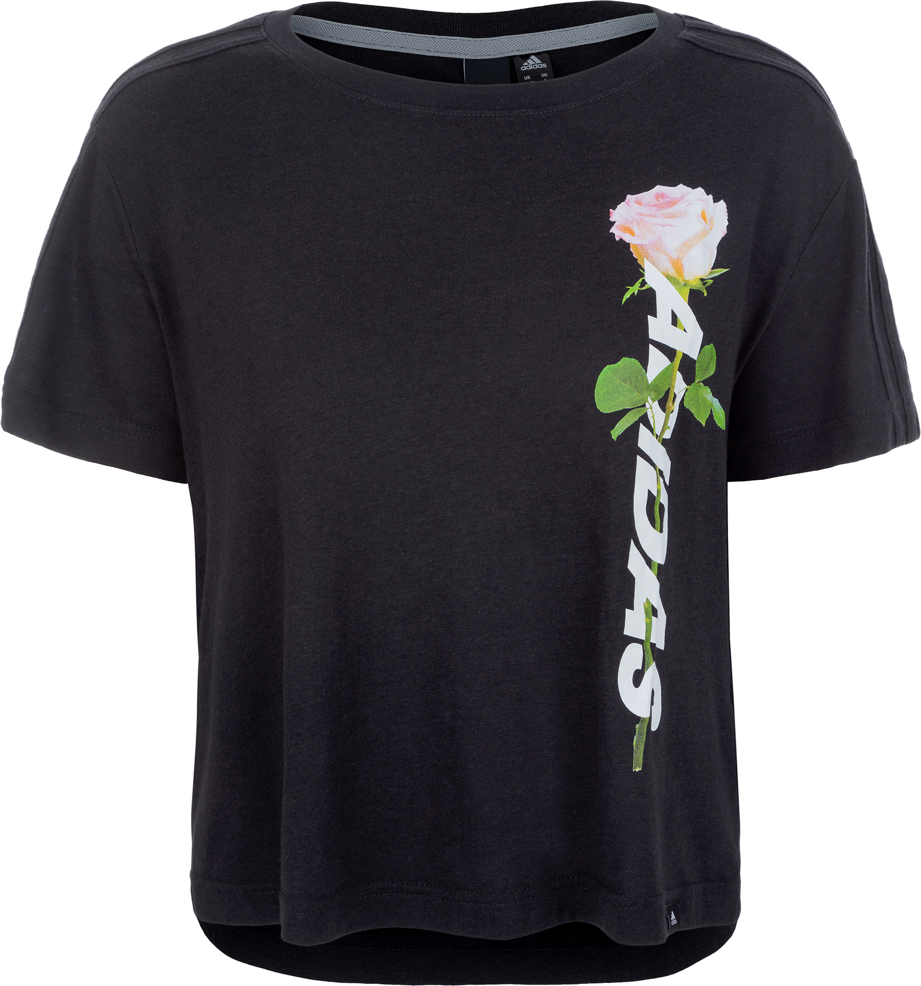 Adidas Футболка женская Adidas Floral Essential, размер M цена