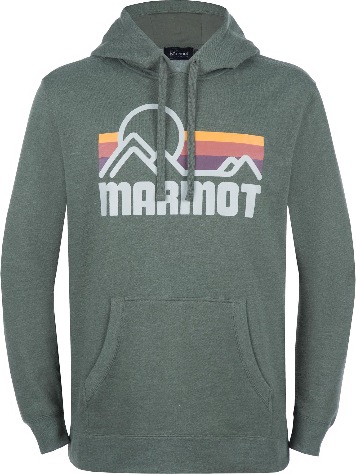 Marmot Худи мужская Marmot Coastal, размер 54-56 худи superdry оранжевый 54 размер