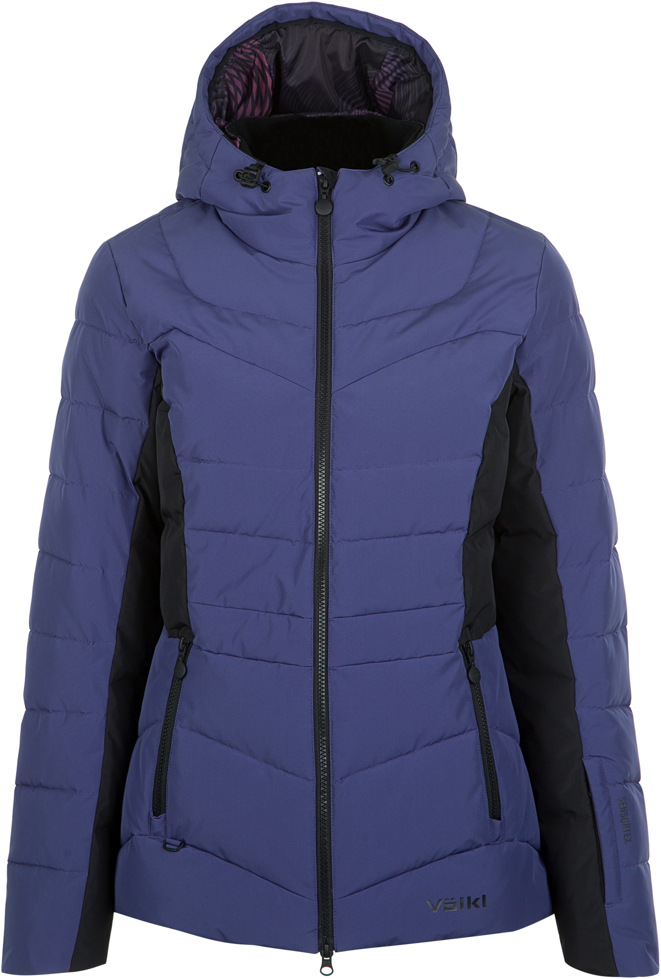 Volkl Куртка утепленная женская Volkl, размер 44 volkl volkl flair sc vmotion 11 alu gw lady 18 19 размер 158