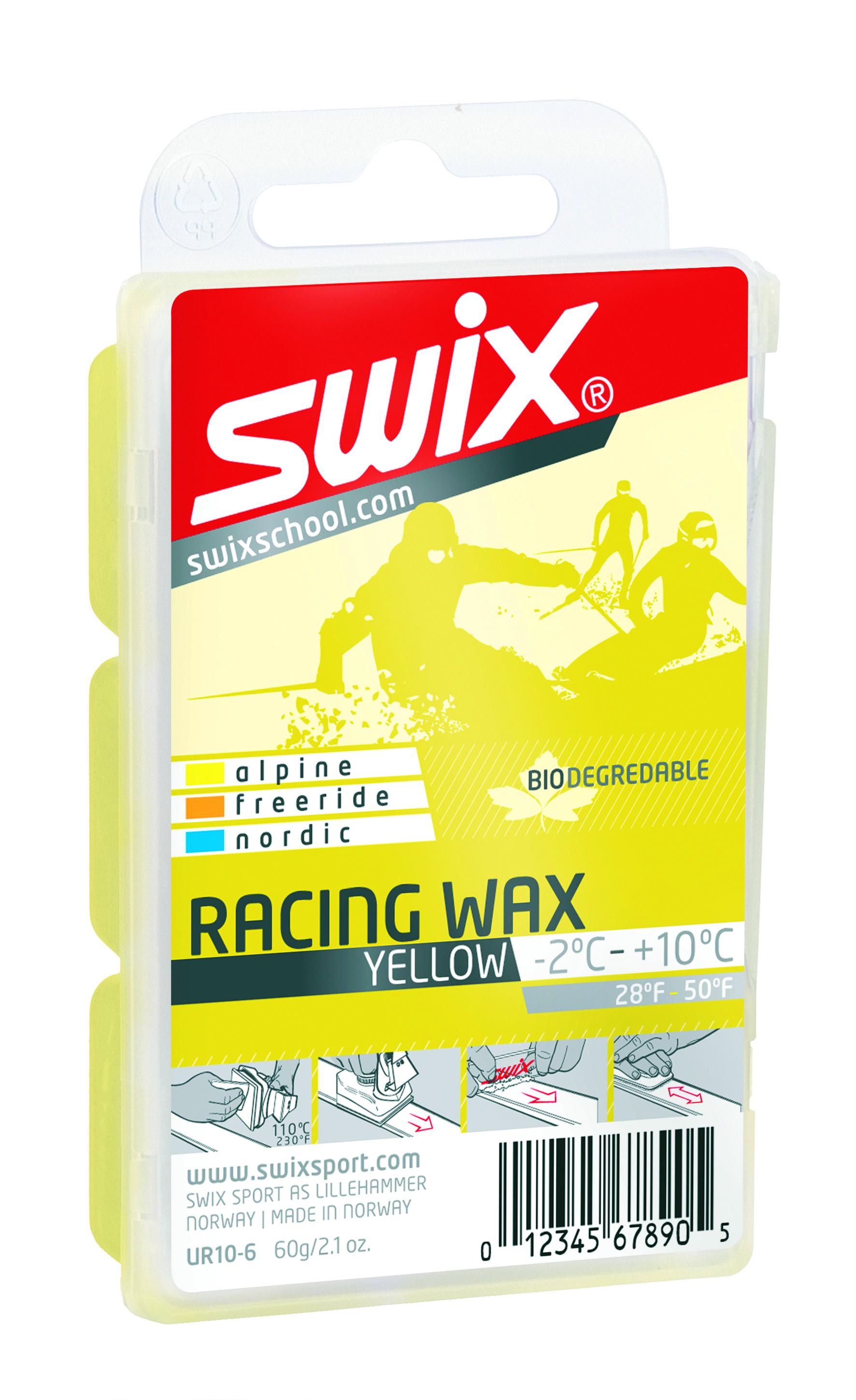 Swix Мазь скольжения Swix Bio Racing, -2C/+10C swix аэрозольный клистер swix 5c 10c