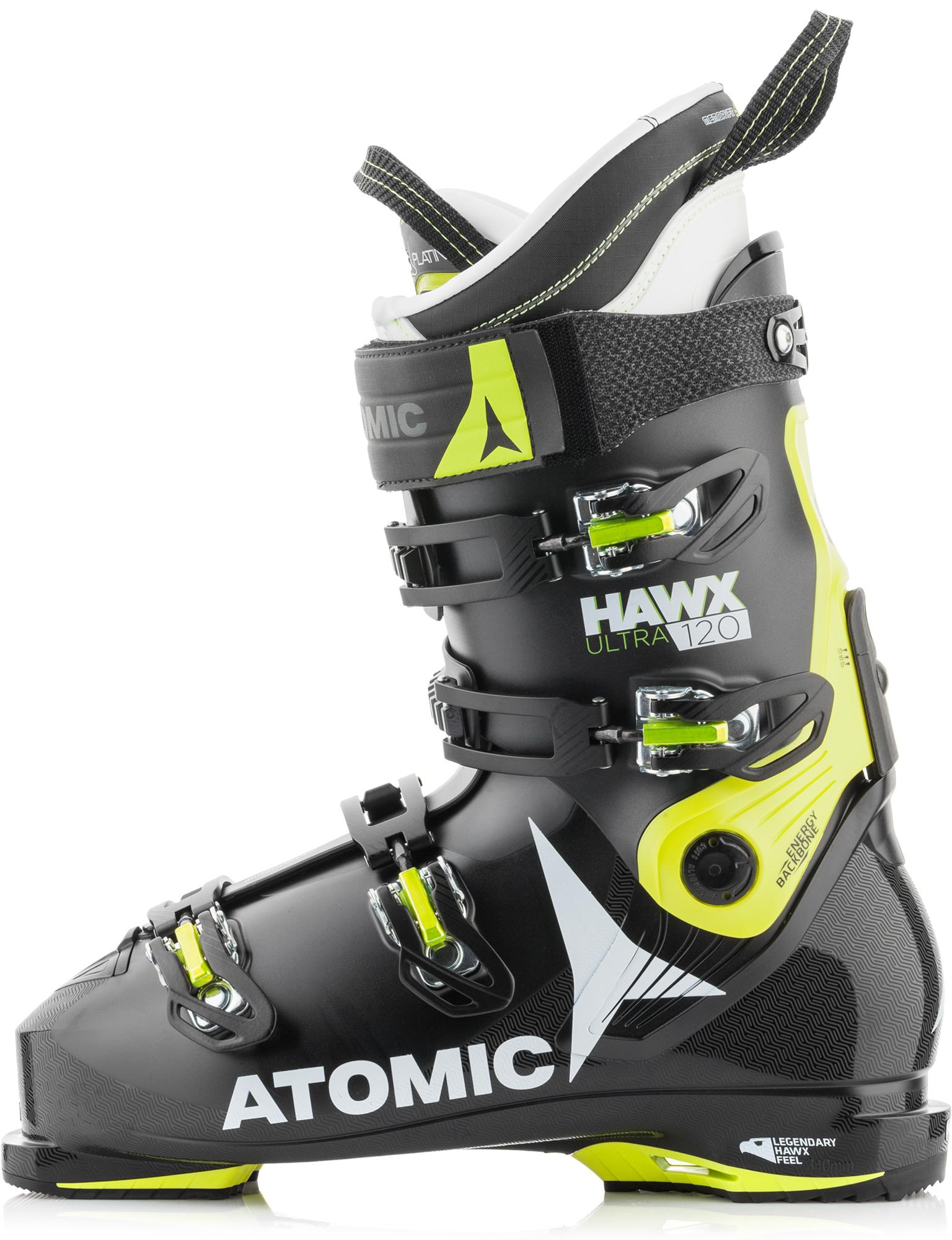 Atomic Ботинки горнолыжные Atomic HAWX ULTRA 120, размер 45,5 atomic ботинки горнолыжные atomic live fit 100 размер 46