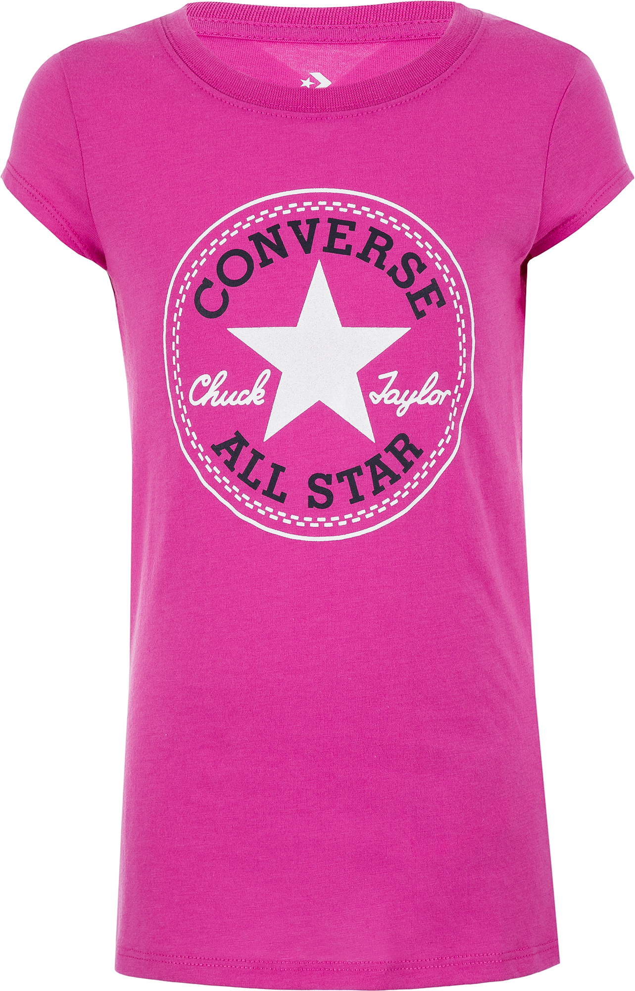 Converse Футболка для девочек Converse Timels Chuck Patch, размер 164