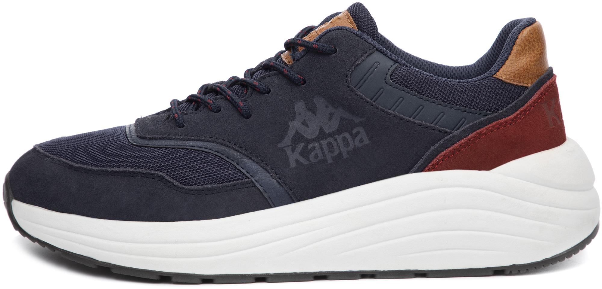 кроссовки мужские kappa alfa m цвет бордовый 304q5y0 906 размер 44 43 Kappa Кроссовки мужские Kappa Neoclassic 2.0, размер 45