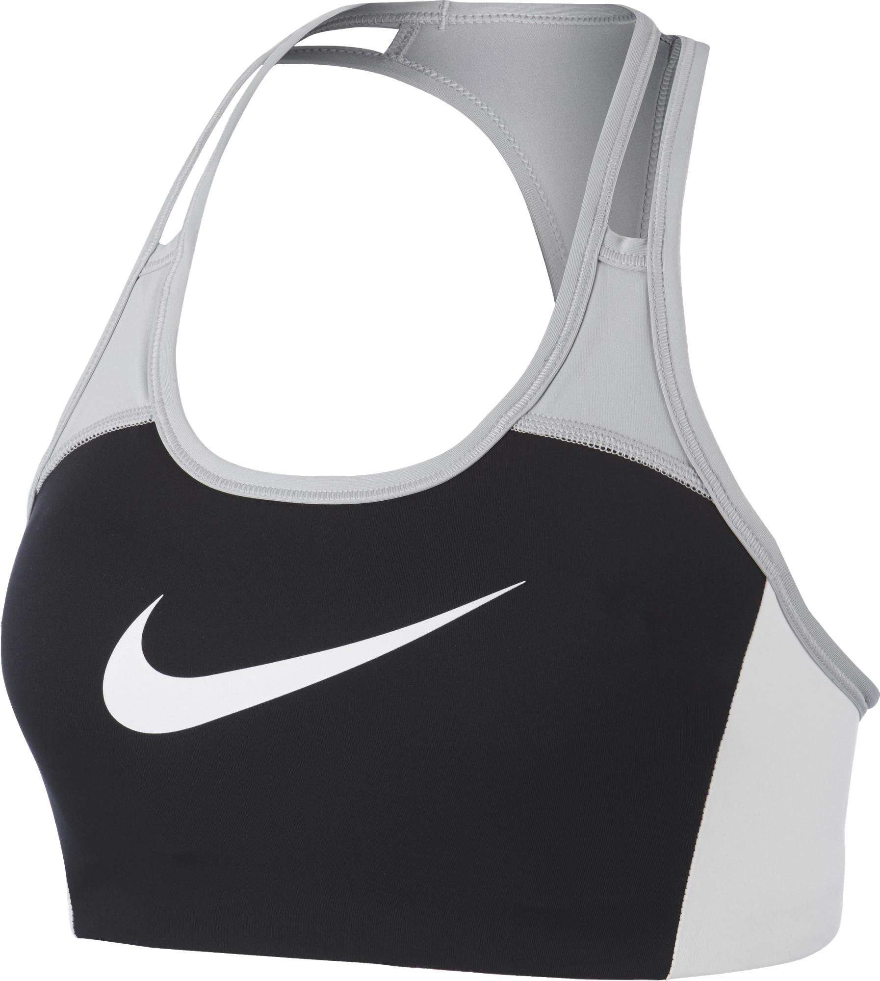 Nike Спортивный топ бра Nike Swoosh, размер 48-50 цена