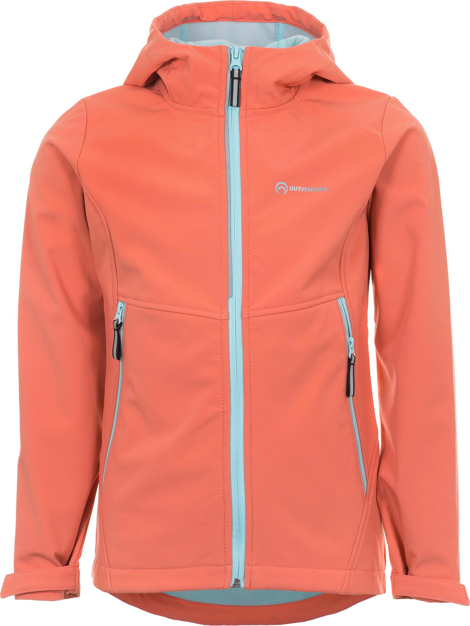 Outventure Куртка софт-шелл для девочек Outventure, размер 164