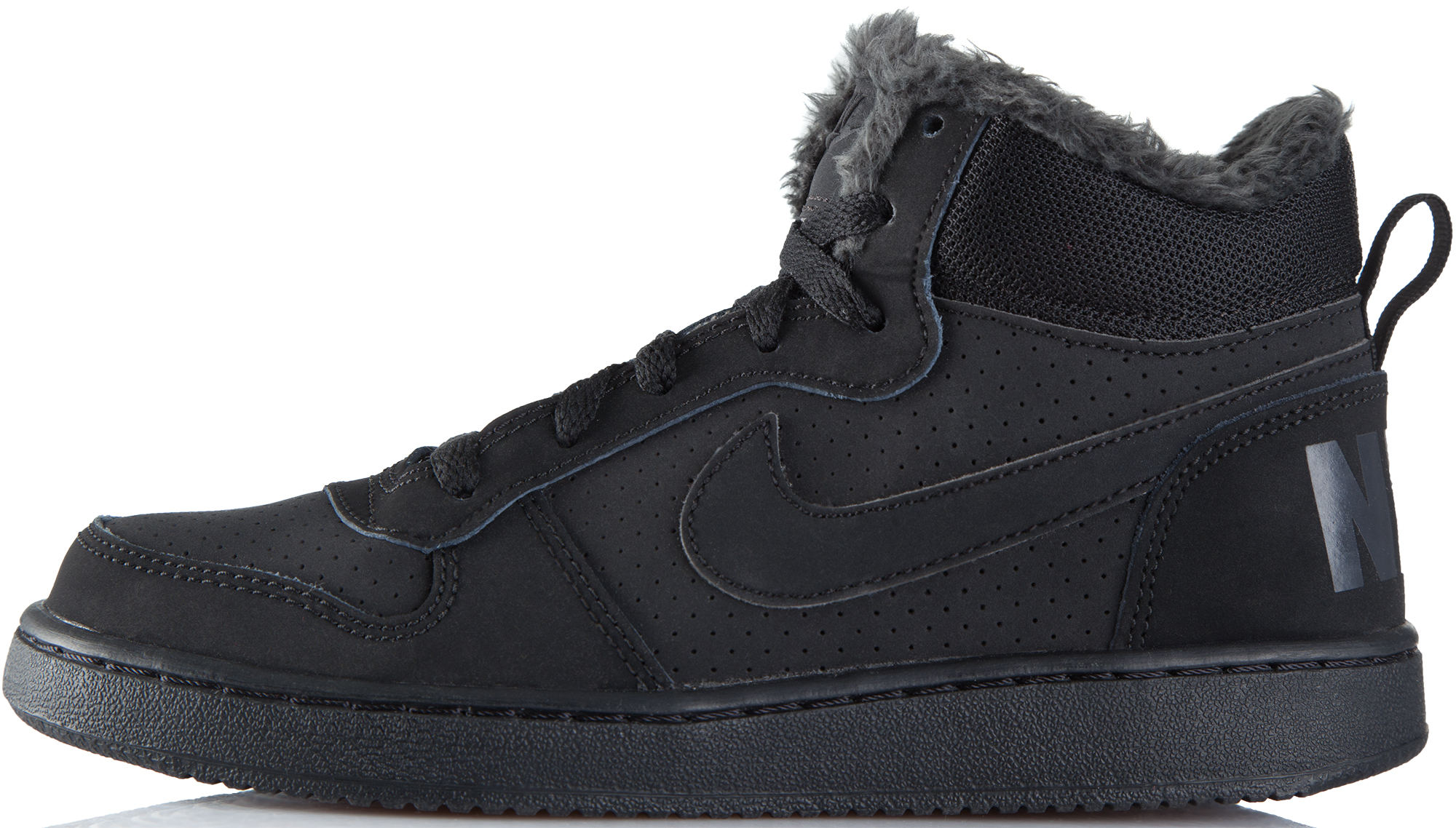 Nike Кеды для мальчиков  Court Borough Mid Winter, размер 39