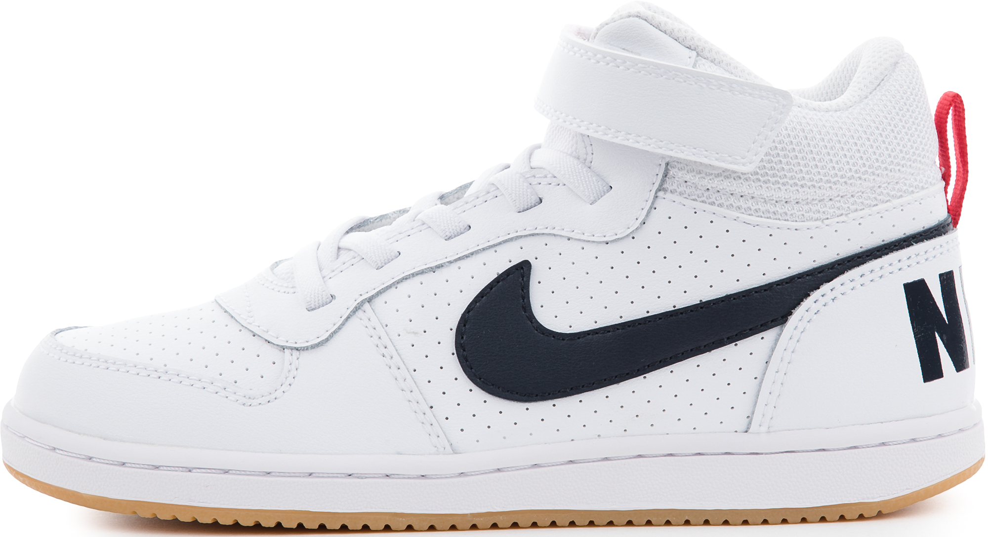 Nike Кеды для мальчиков Nike Court Borough Mid, размер 30 кеды nike кеды nike court borough mid td