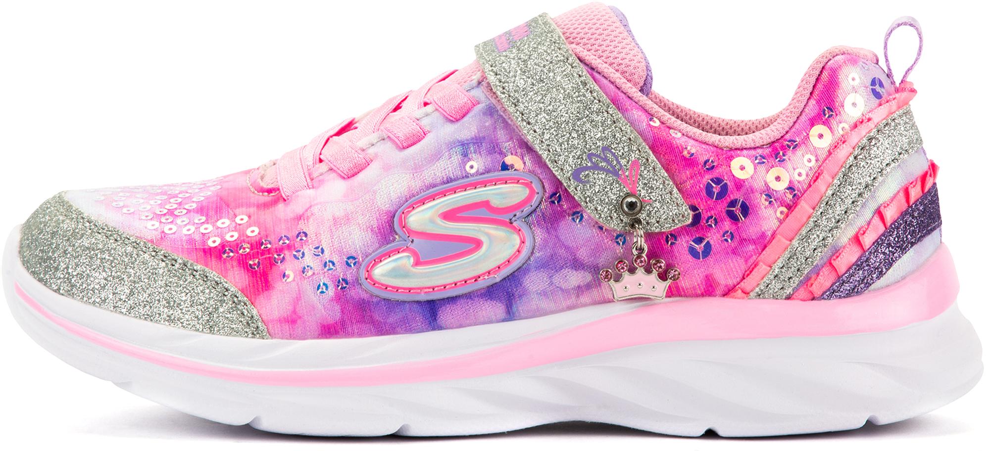 Skechers Полуботинки для девочек Quick Kicks-Lil Princess, размер 34,5