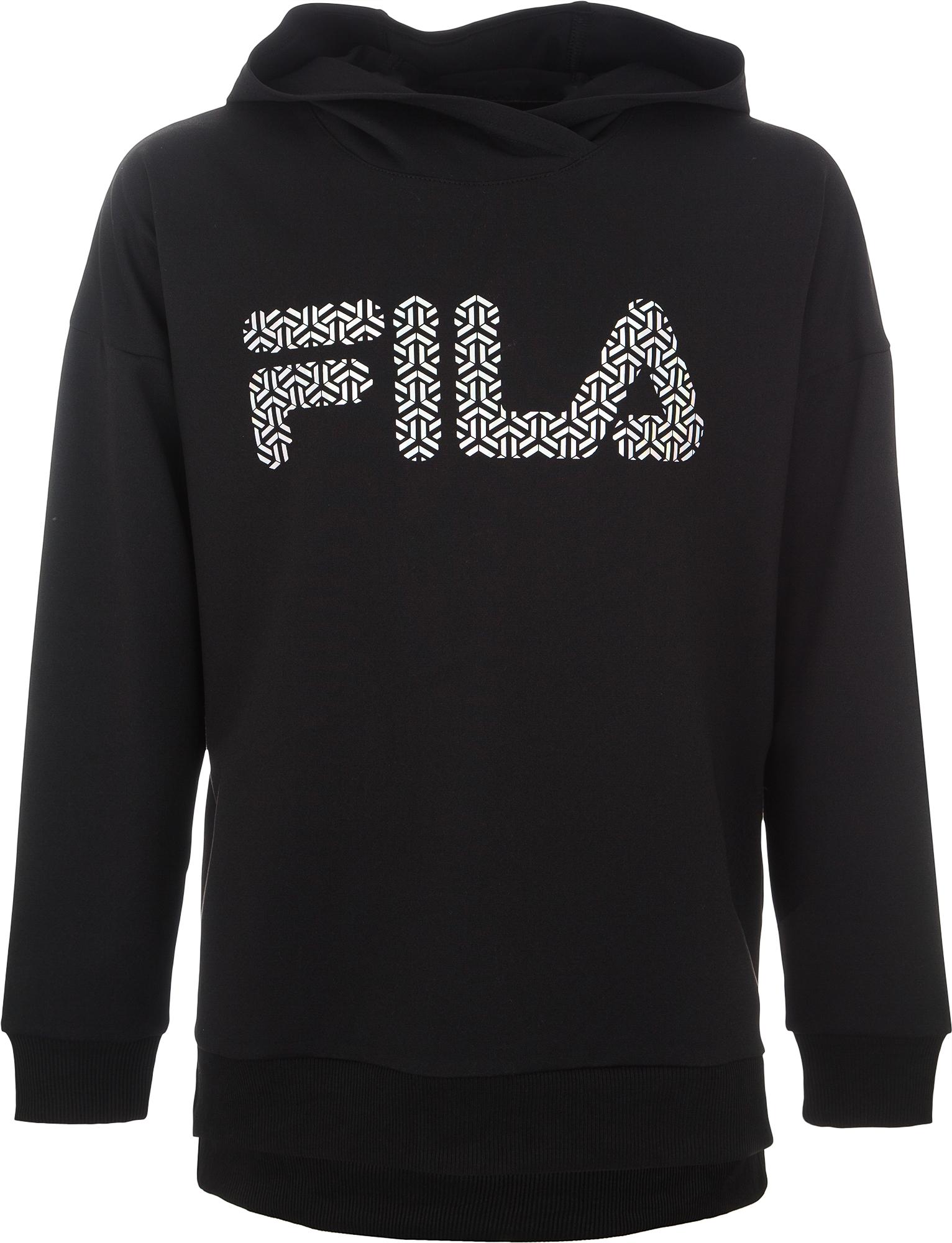 Fila Худи для девочек Fila, размер 128 цена и фото