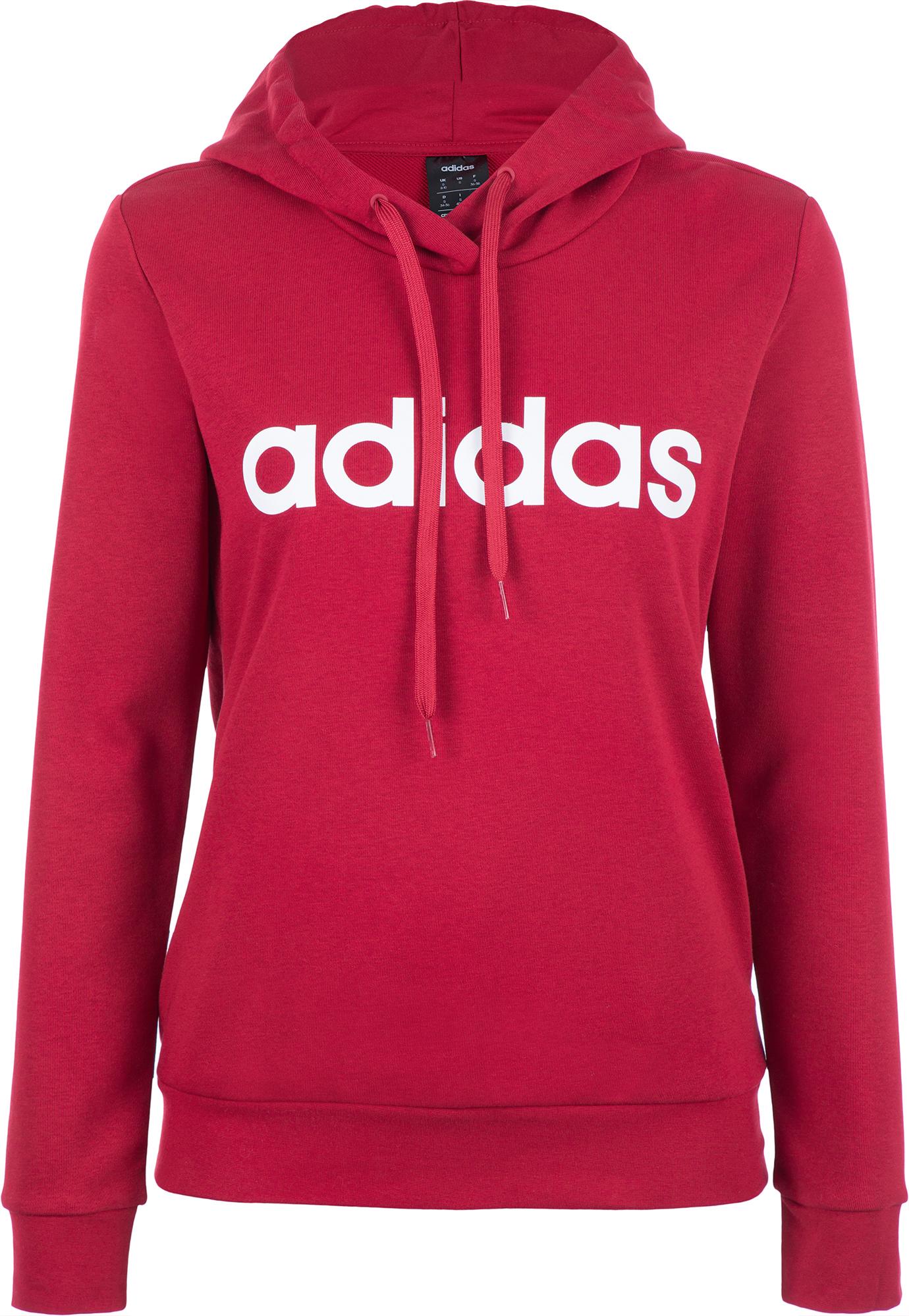 Adidas Худи женская Adidas Essentials Linear, размер 40