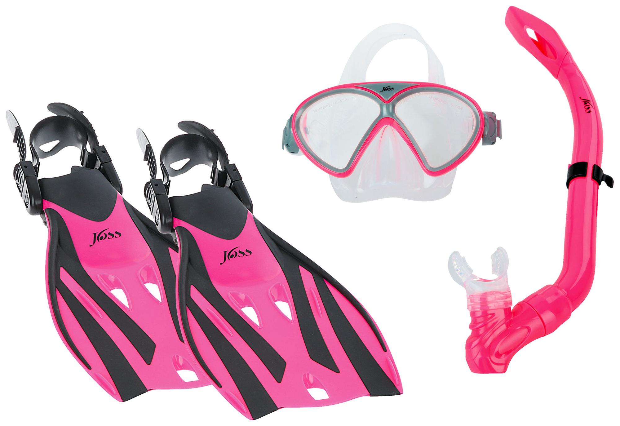 Joss Комплект для плавания детский Joss купить маску и трубку для подводного плавания