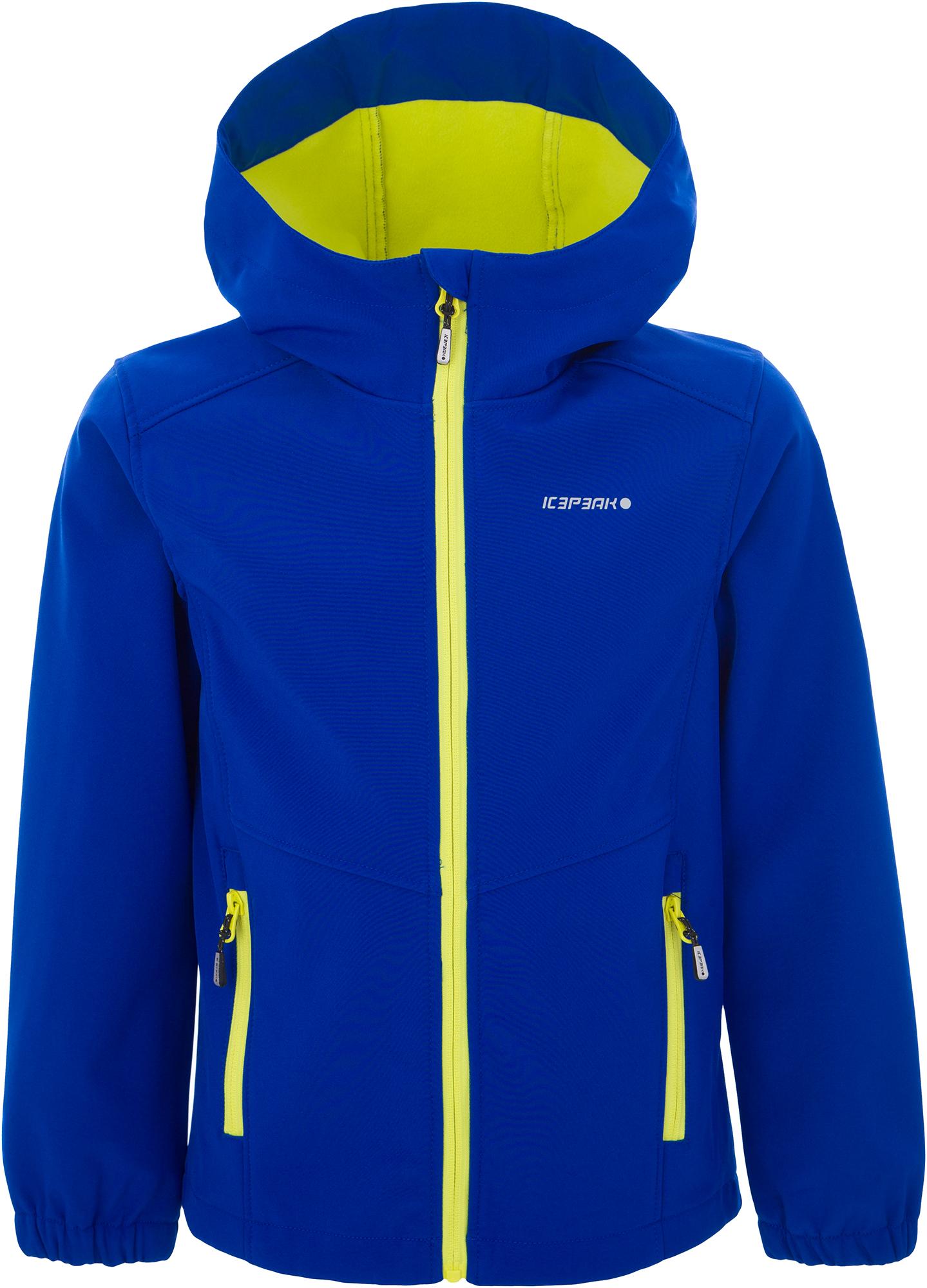 IcePeak Куртка софт-шелл для мальчиков IcePeak Teiko, размер 176 icepeak рюкзак icepeak ilma размер без размера