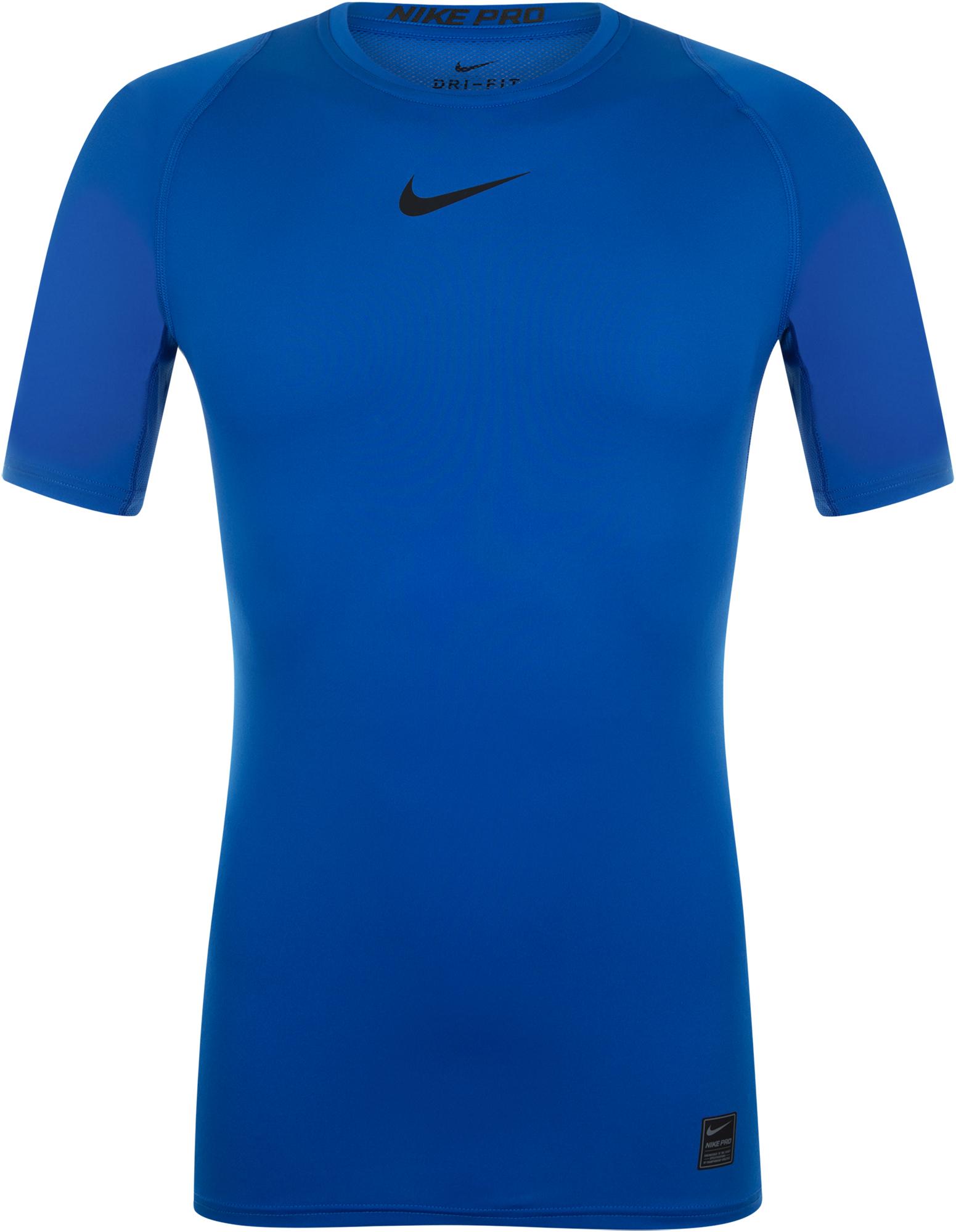 Nike Футболка мужская Nike Pro, размер 46-48 nike футболка мужская nike cool miler