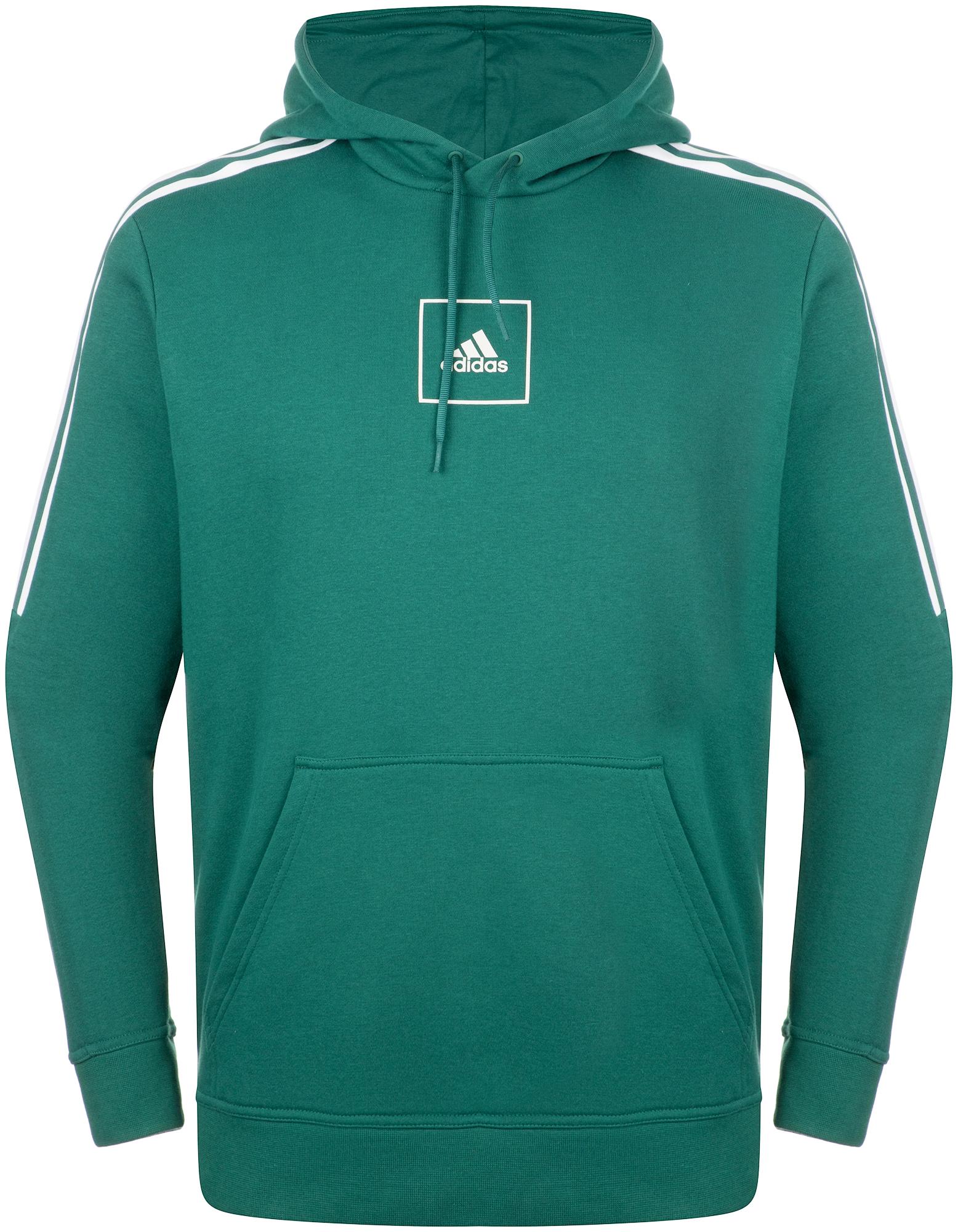 Adidas Худи мужская adidas 3-Stripes, размер 56-58 худи мужское adidas m zne hd fr цвет серый dp5142 размер m 48 50