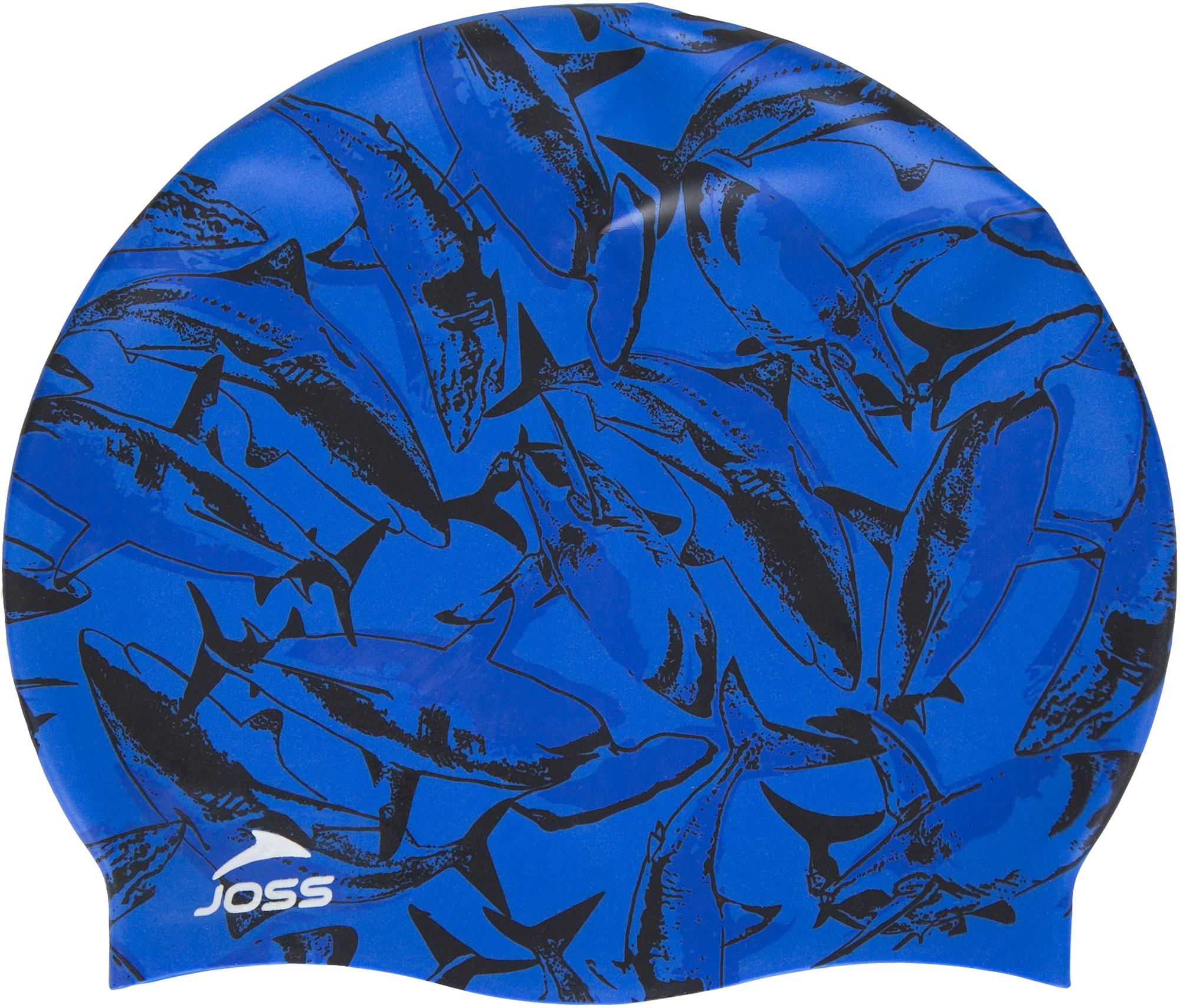Joss Шапочка для плавания детская Joss, размер 52-54 футболка для плавания детская reima azores цвет зеленый 5163518073 размер 98