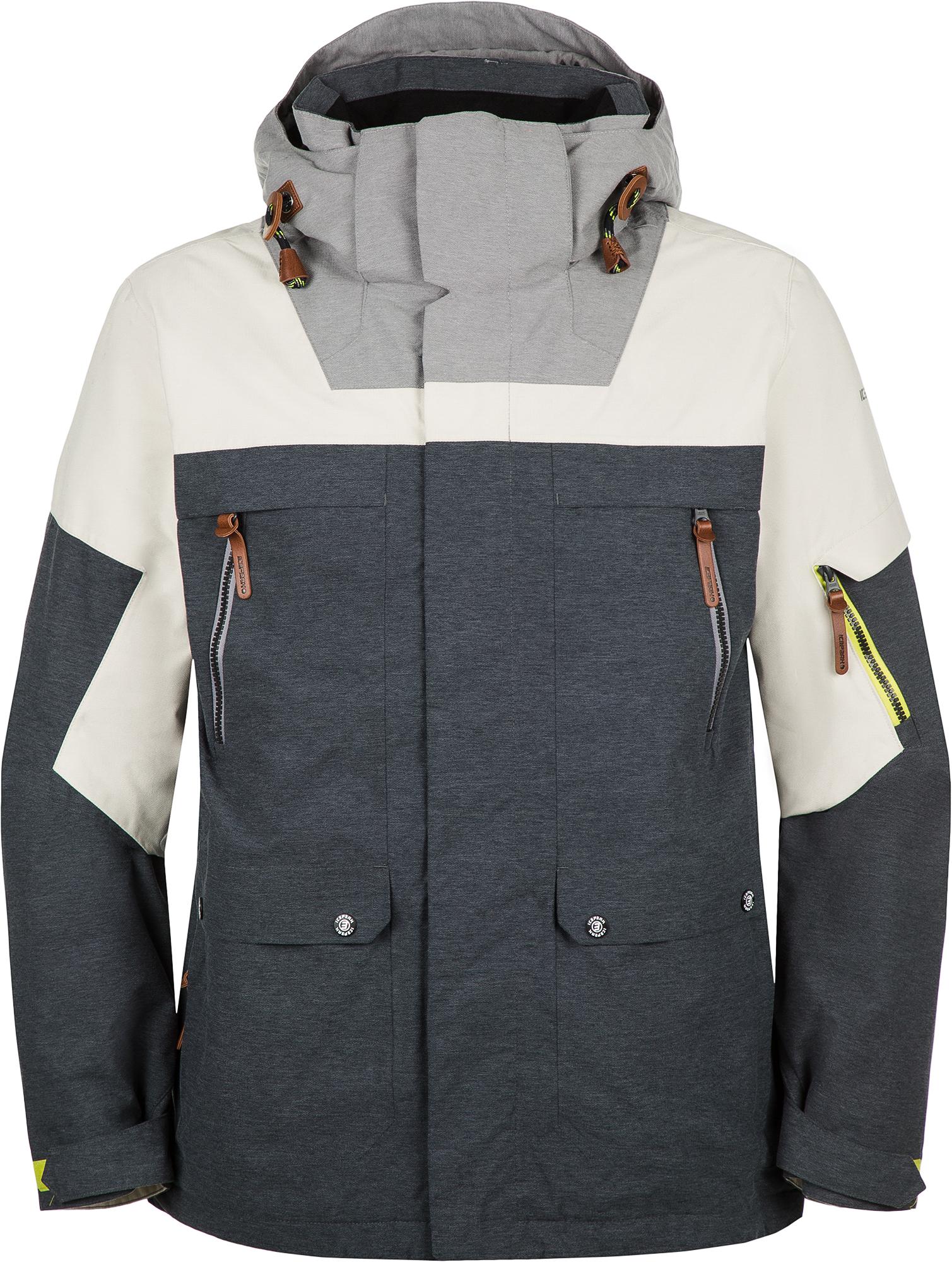 цена IcePeak Куртка мужская IcePeak Clarkson, размер 54 онлайн в 2017 году