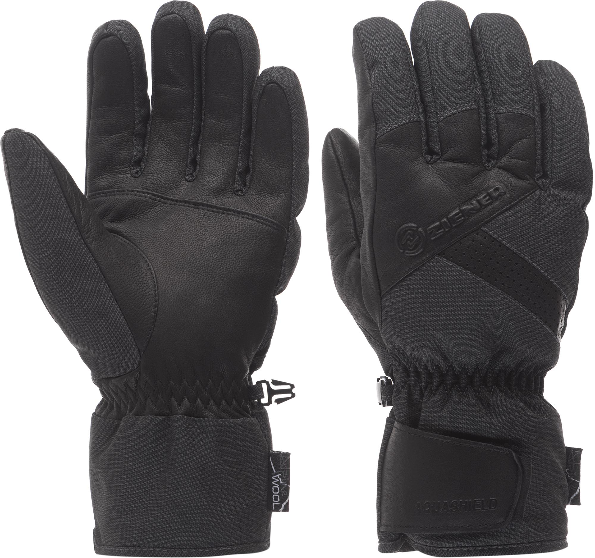 Ziener Перчатки мужские Ziener Getter, размер 8 ziener перчатки мужские ziener gliss gtx размер 9