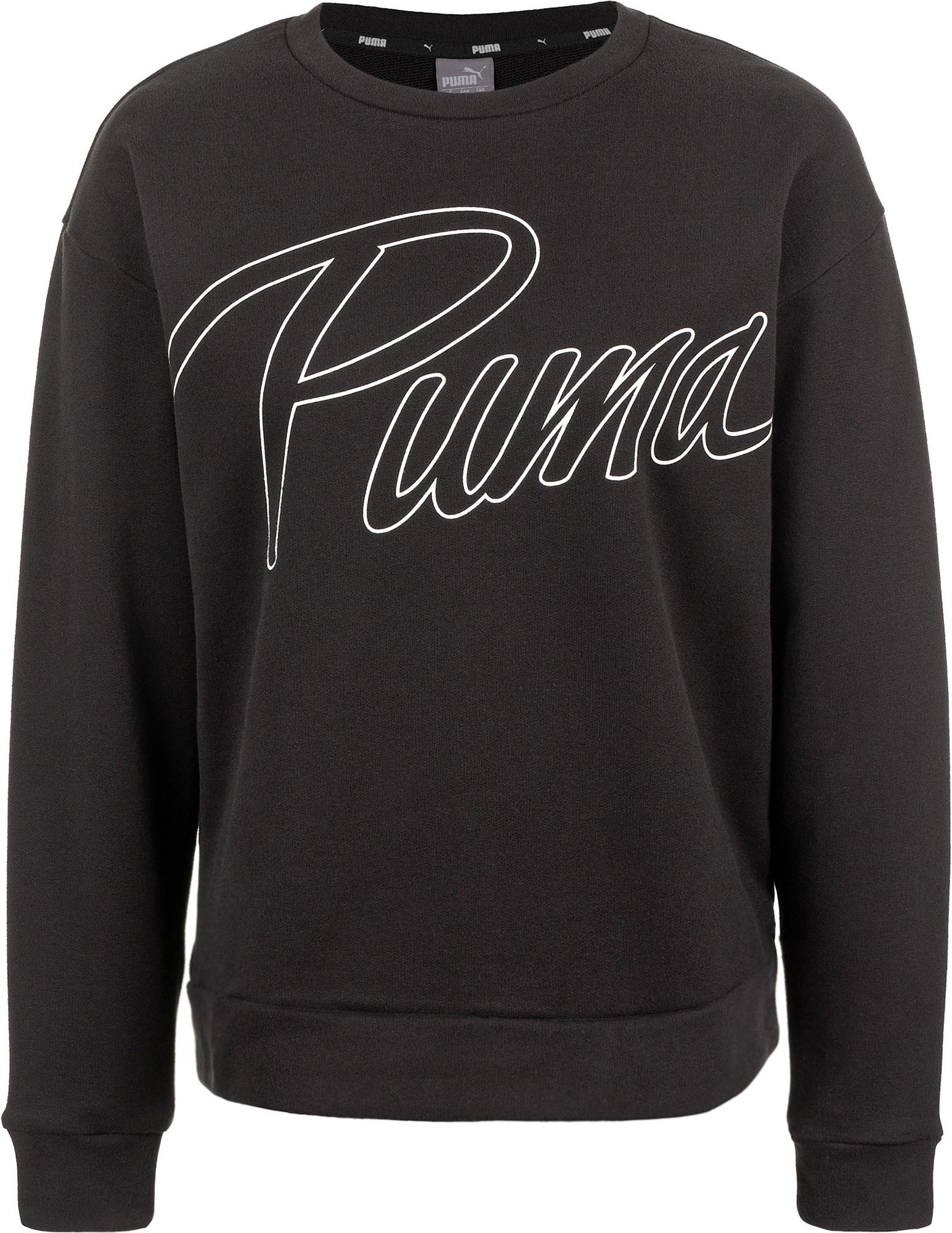 пуховик женский puma 70 30 480 down jacket цвет молочный 85166611 размер m 44 46 Puma Свитшот женский Puma Athletics Crew, размер 44-46