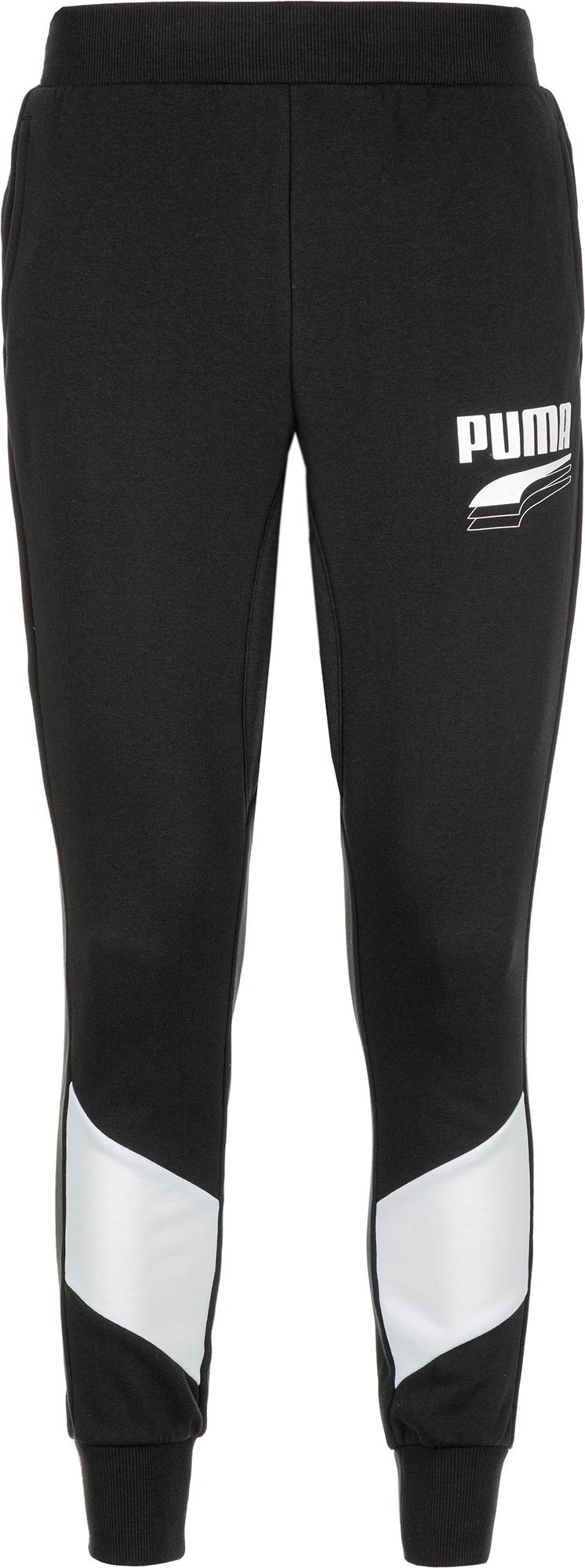 Фото - Puma Брюки мужские Puma Rebel Block, размер 46-48 брюки спортивные puma puma pu053emfbqi5