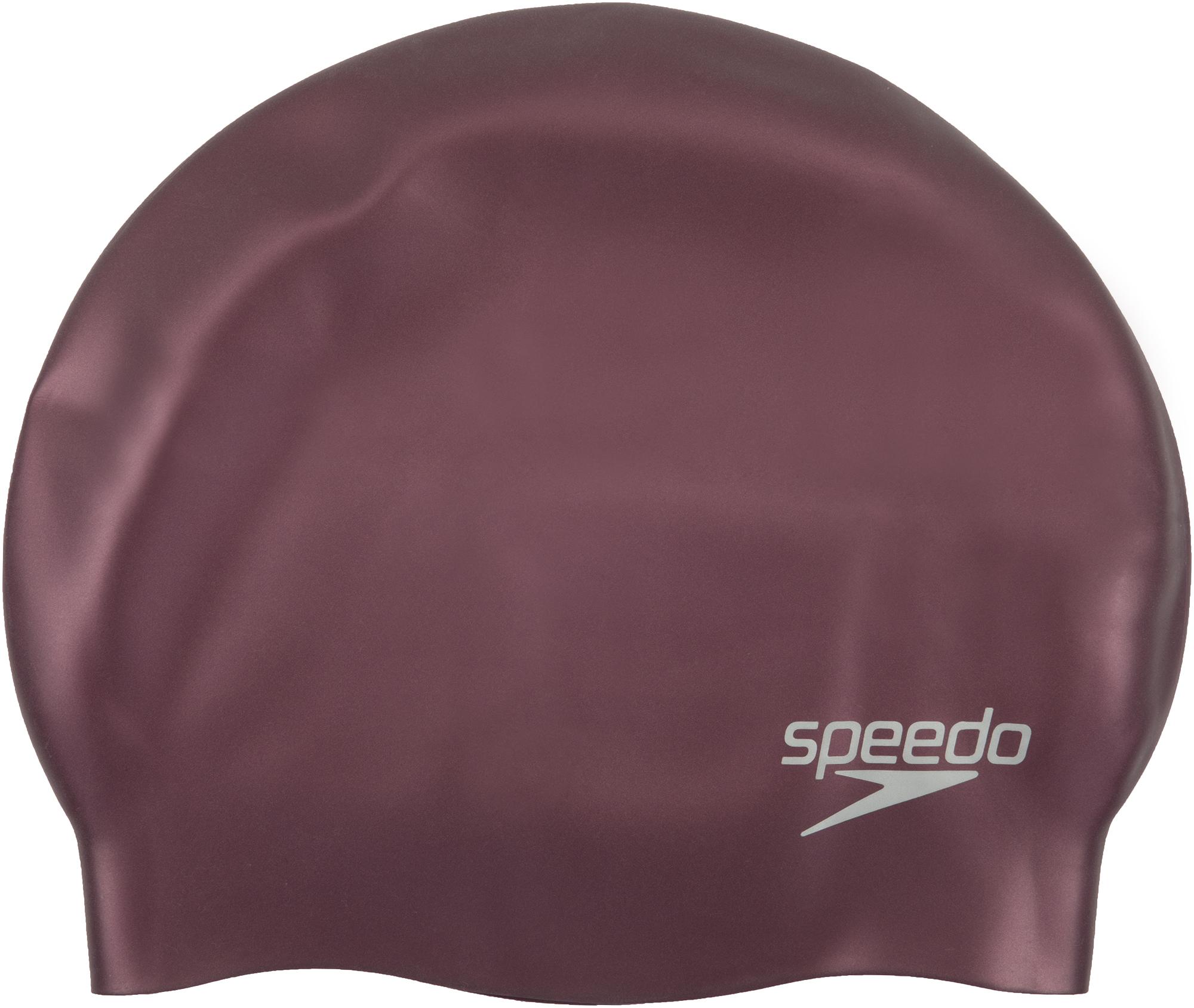 Speedo Шапочка для плавания детская Speedo Plain Moulded Silicone