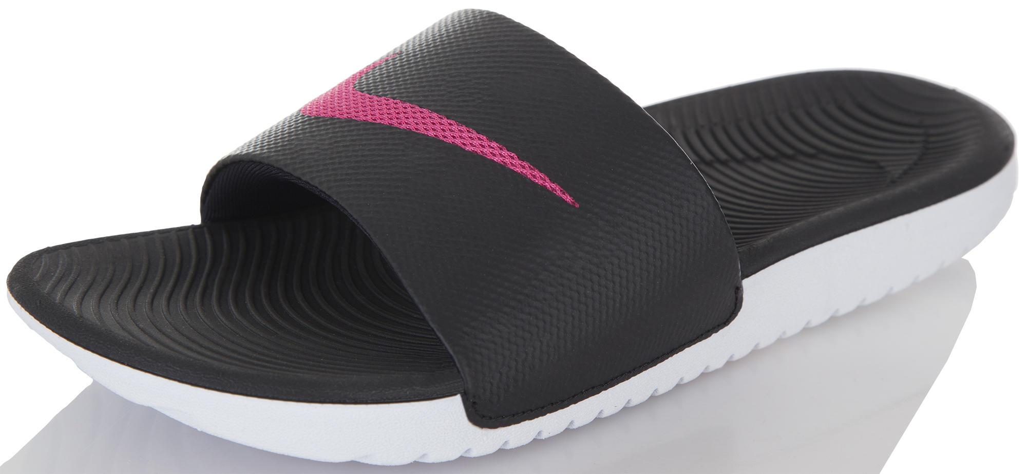 Nike Шлепанцы женские Nike Kawa Slide шлепанцы женские soludos knotted slide sandal ivory