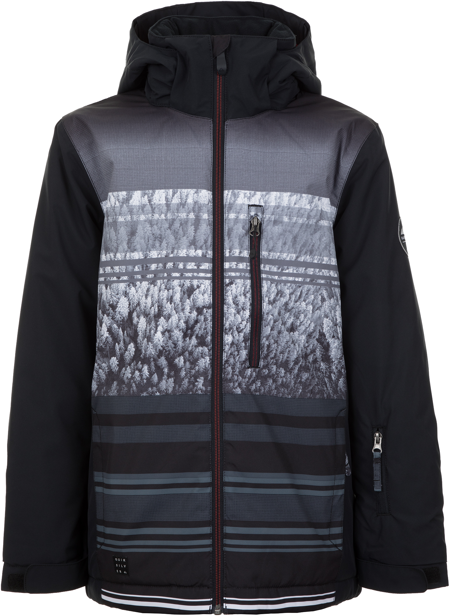 Quiksilver Куртка утепленная для мальчиков Quiksilver Mission Engineered, размер 164-170 цена