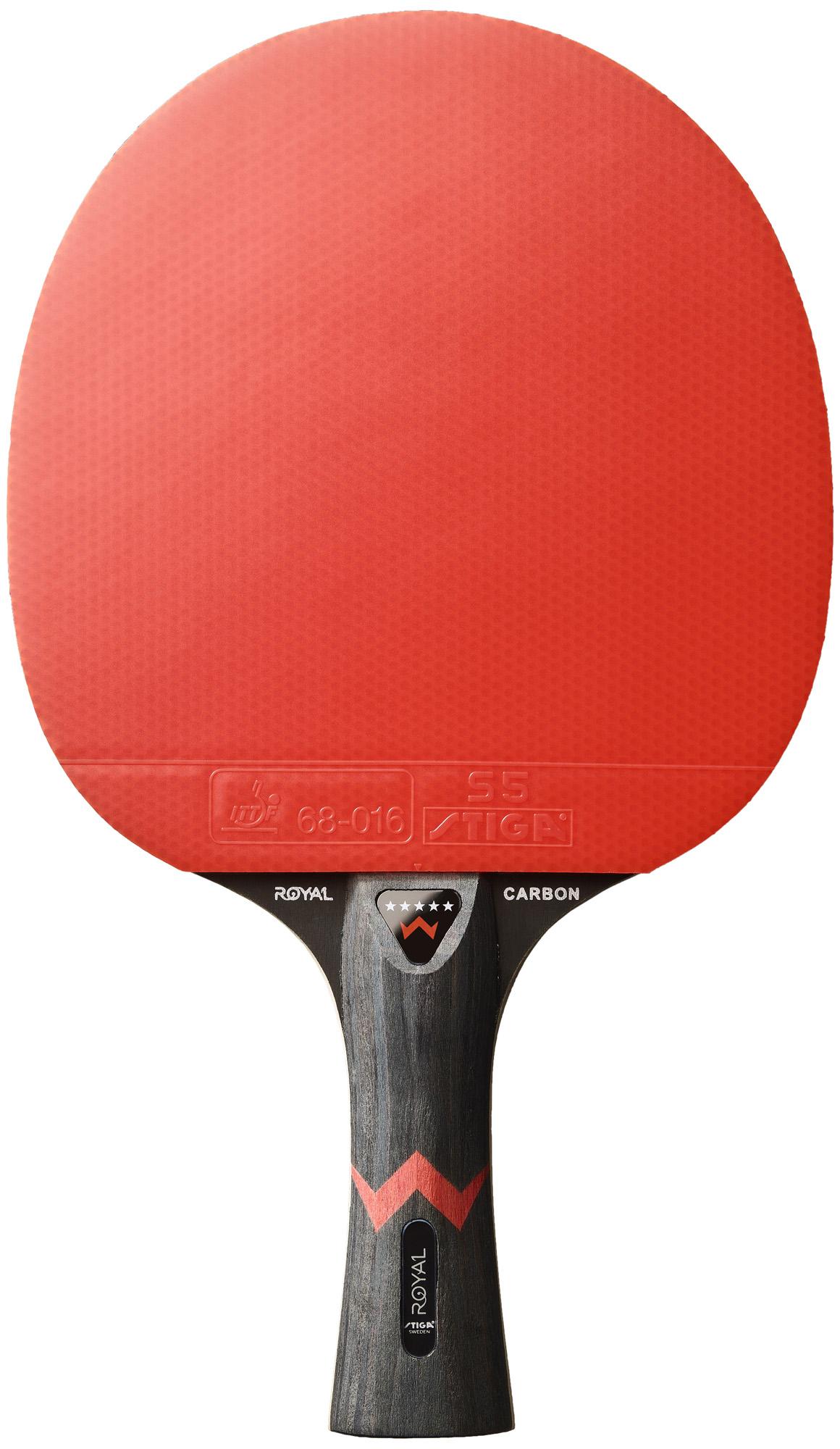 Stiga Ракетка для настольного тенниса Stiga ROYAL 5-star CARBON все цены