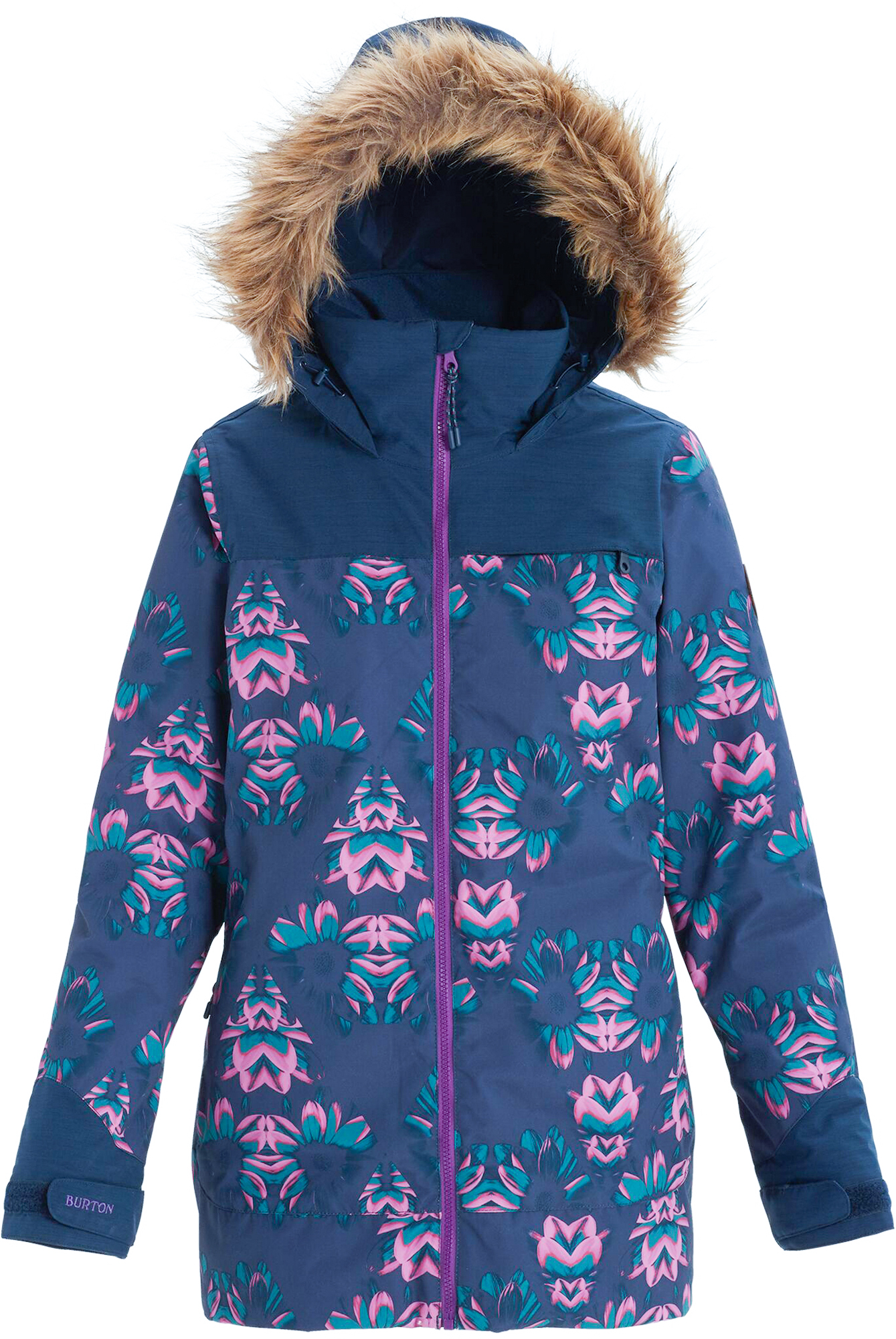 цена на Burton Куртка утепленная женская Burton Lelah, размер 42-44