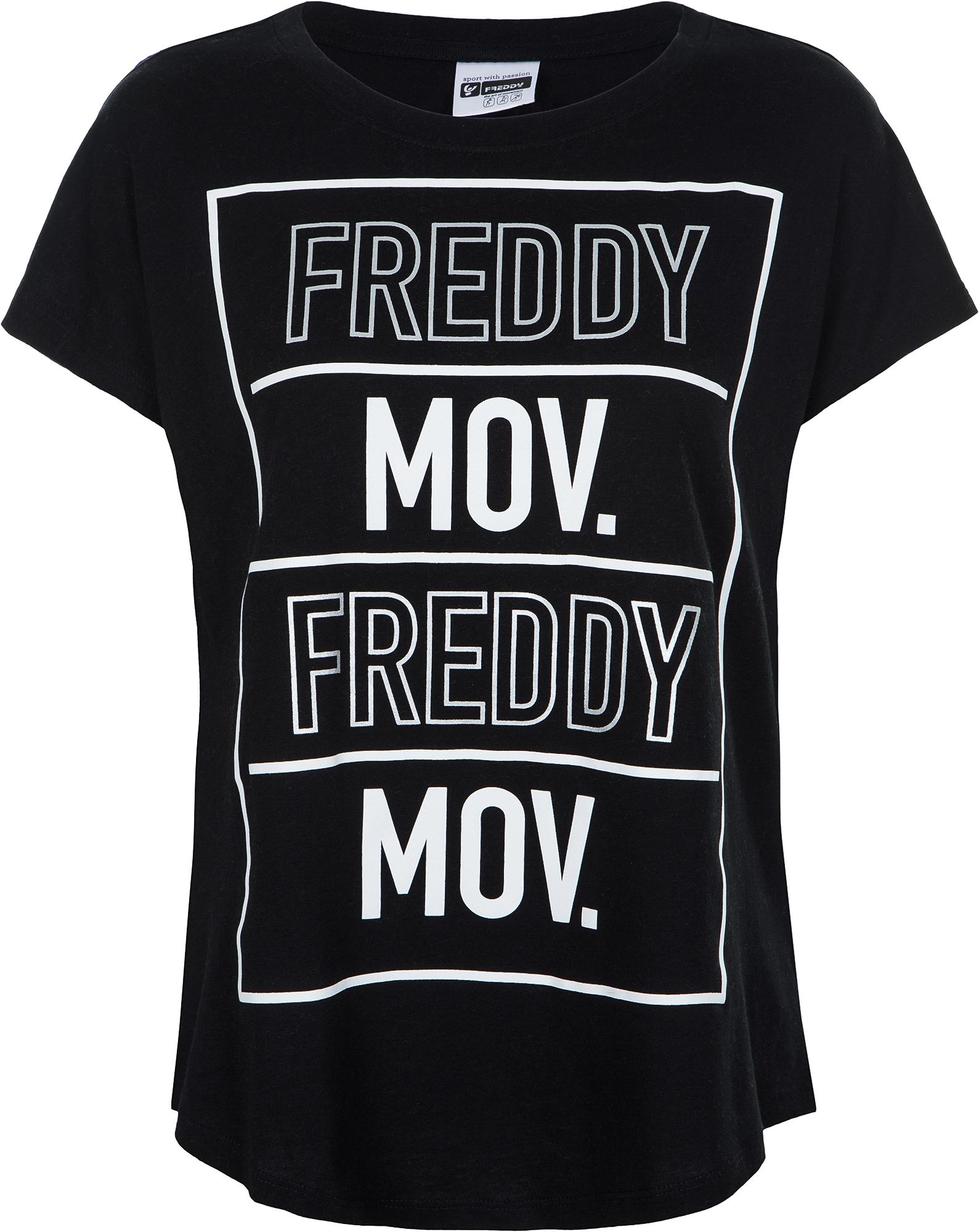Freddy Футболка женская Freddy, размер 48-50 freddy обувь для танцев