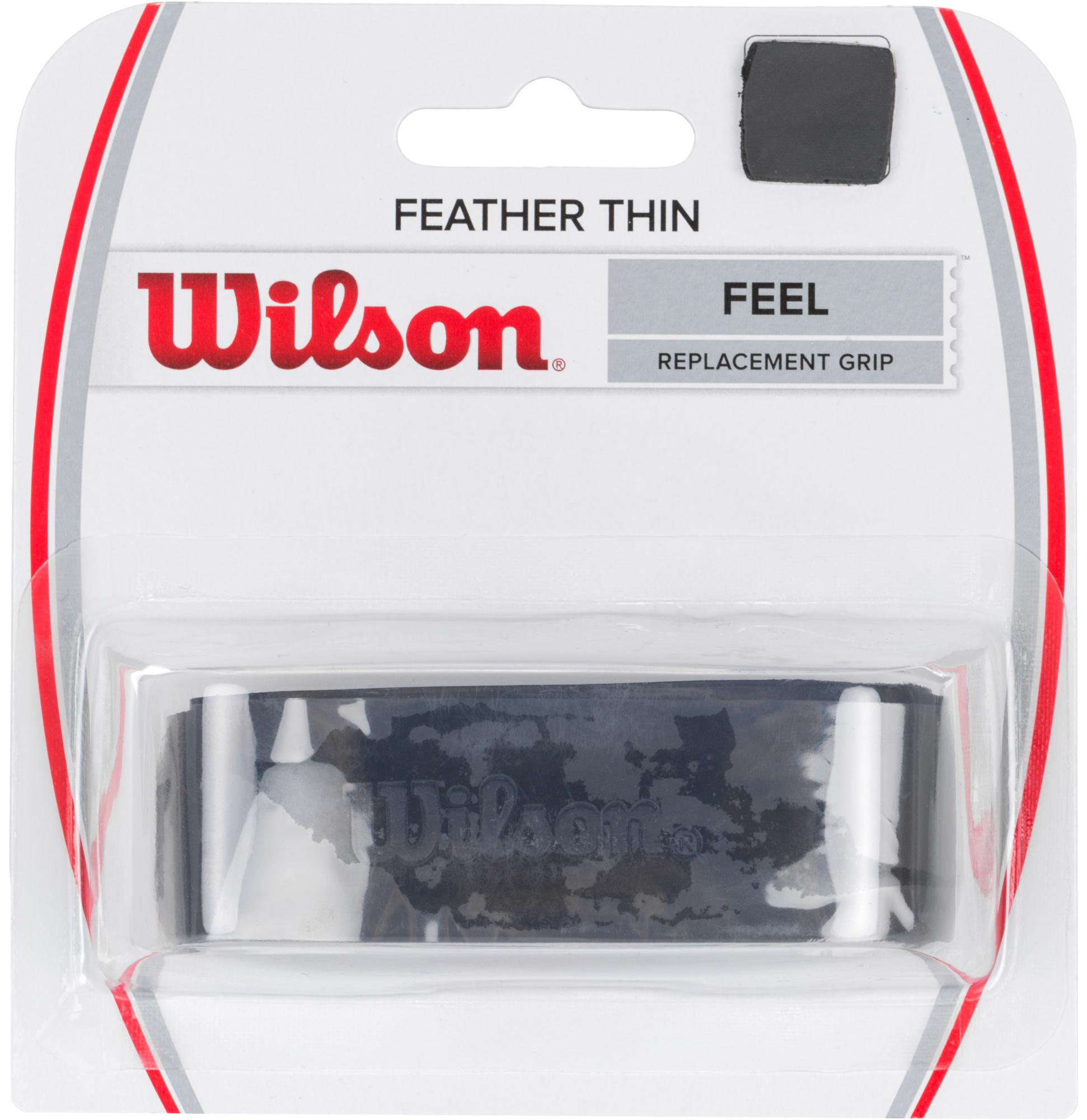 Wilson Базовая намотка Wilson Featherthin Grip Bk цена