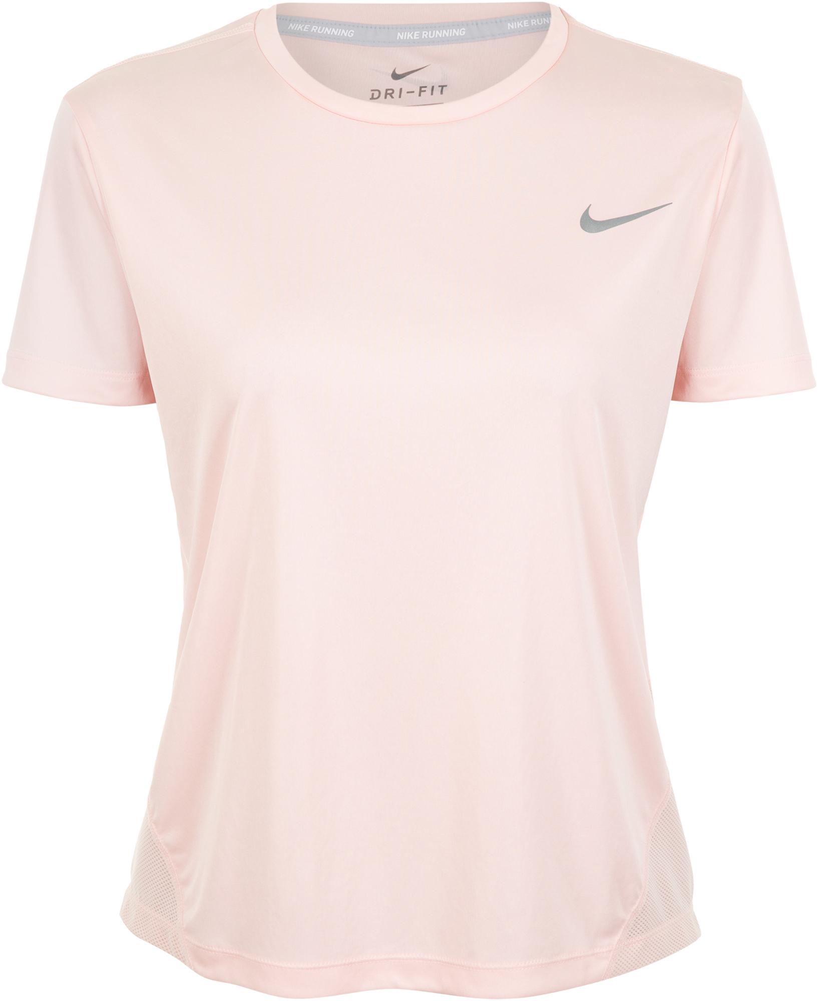 Nike Футболка женская Nike Miler, размер 48-50 nike майка женская nike размер 48 50