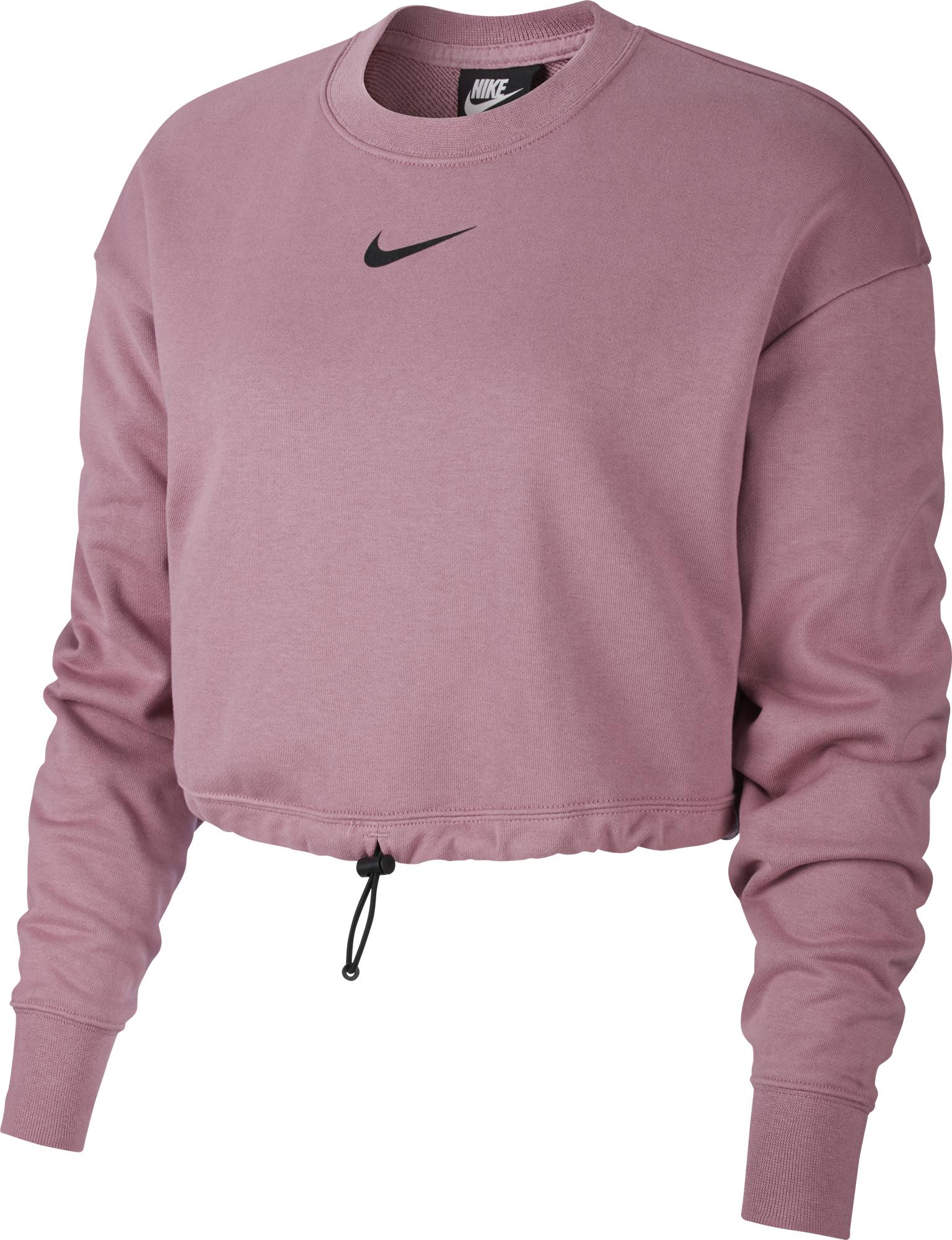 цена Nike Свитшот женский Nike Sportswear Swoosh, размер 42-44 онлайн в 2017 году