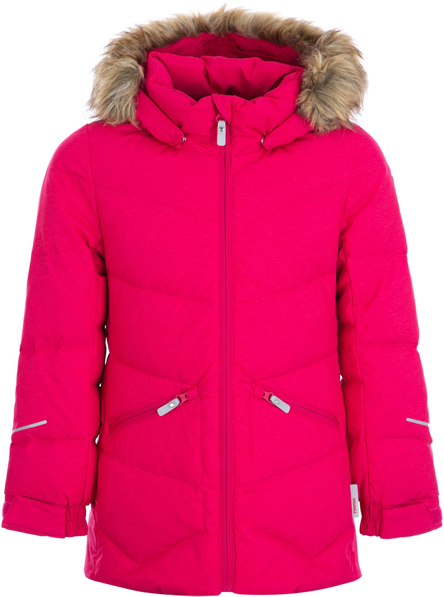 Reima Куртка пуховая для девочек Ennus, размер 140