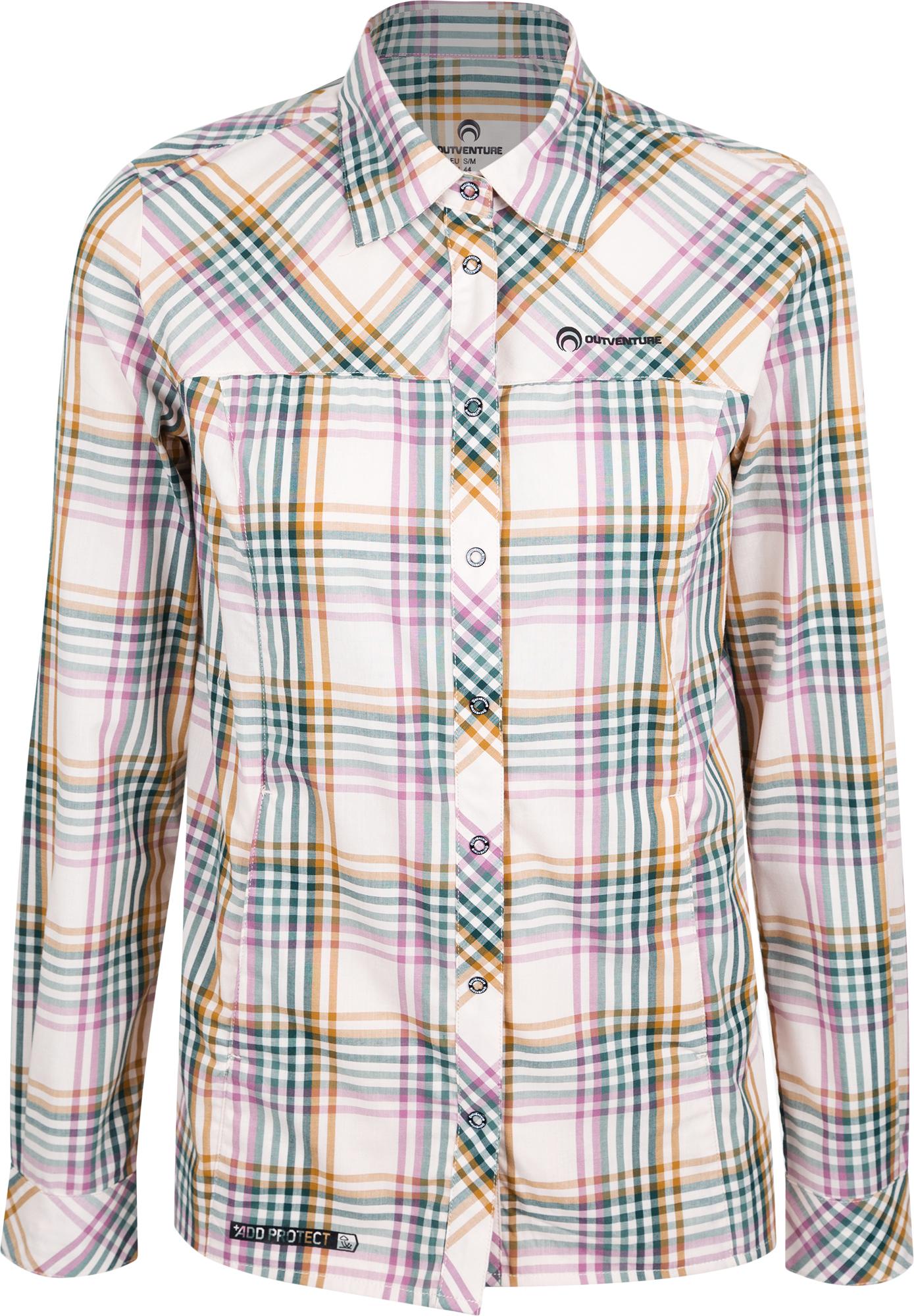 Outventure Рубашка с длинным рукавом женская Outventure, размер 52